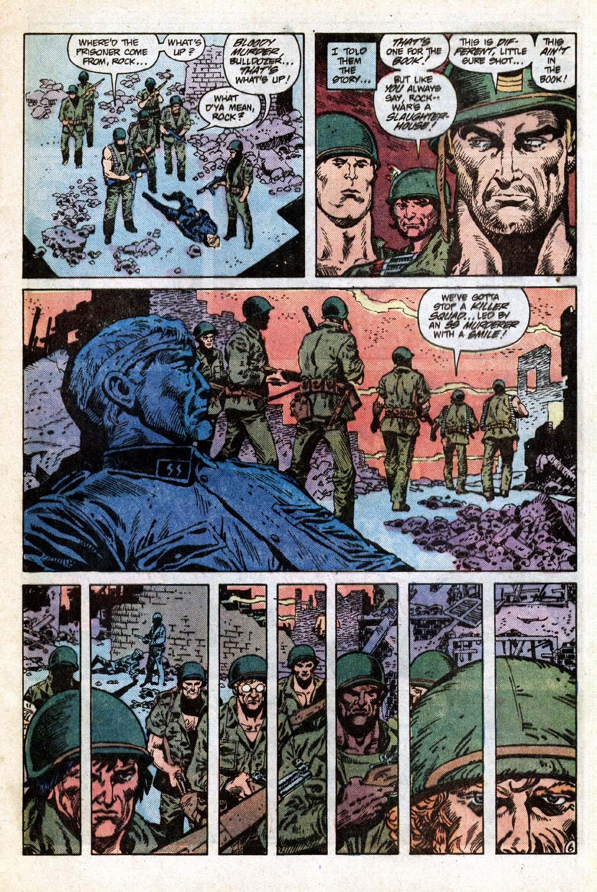 Read online Sgt. Rock comic -  Issue #391 - 7