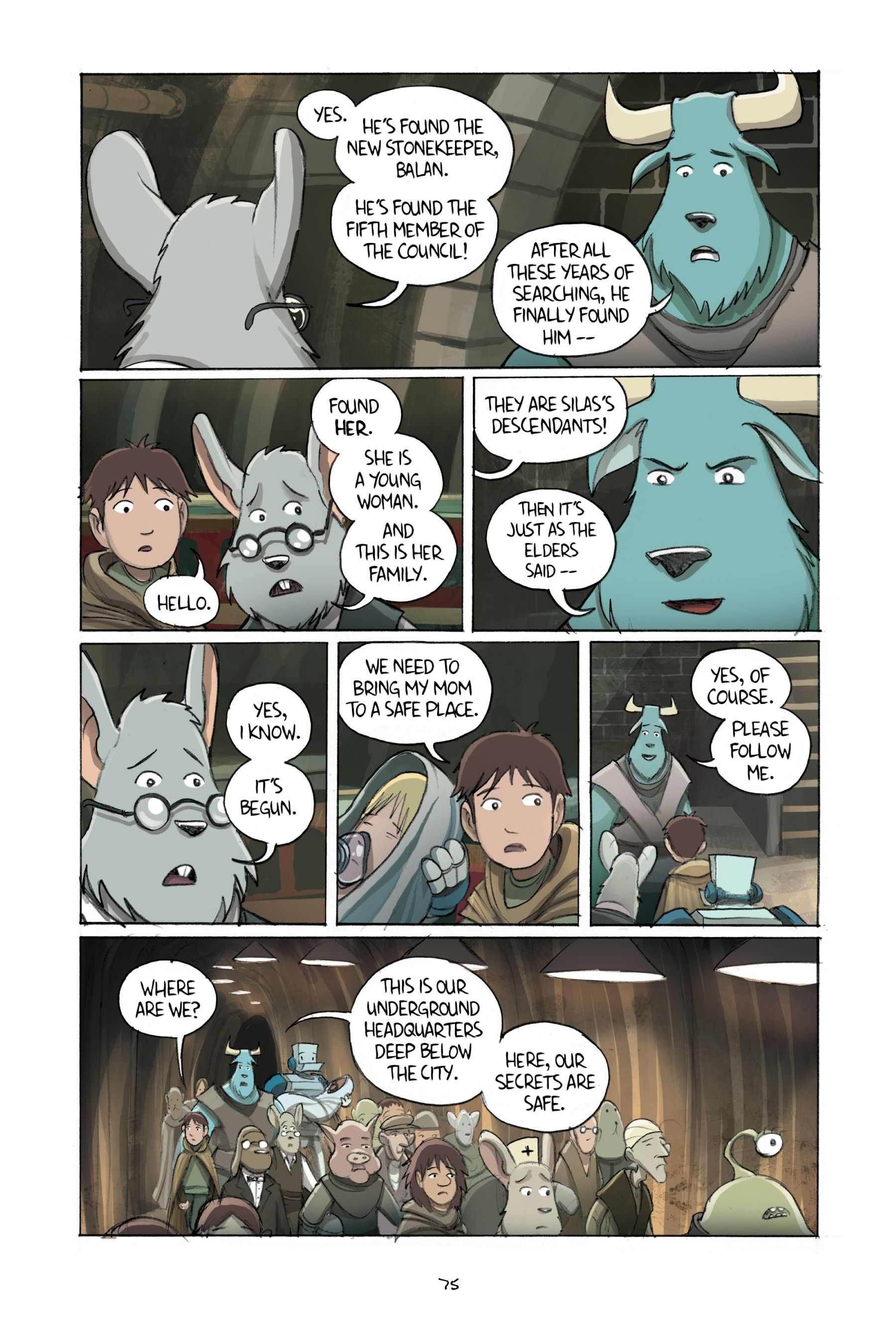 Read online Amulet comic -  Issue #2 - 76