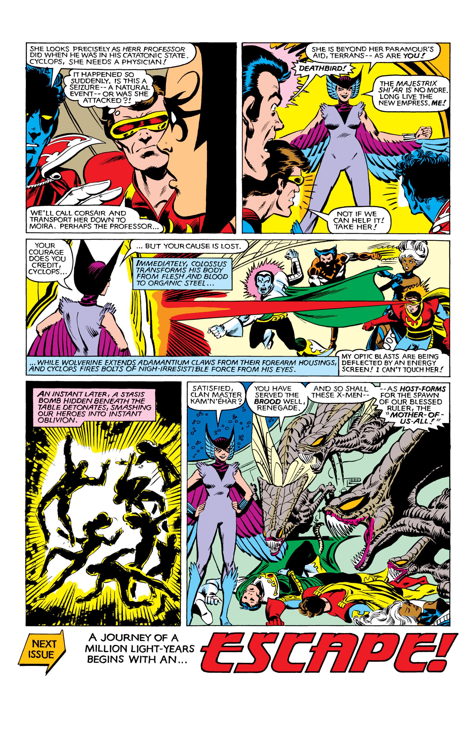 Read online Uncanny X-Men (1963) comic -  Issue #161 - 23
