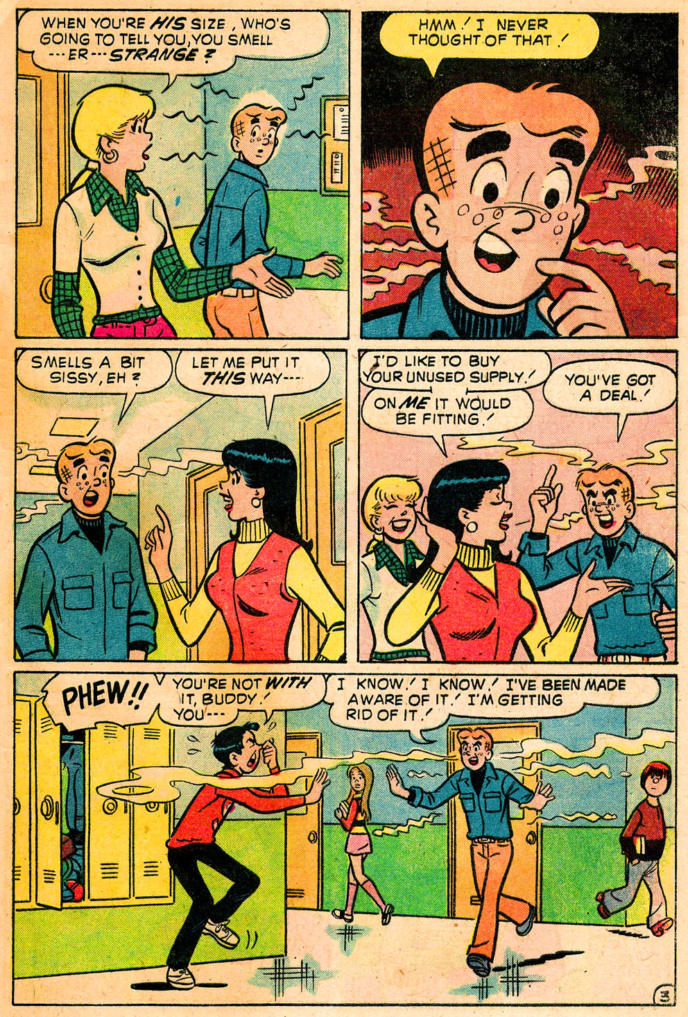 Read online Archie's Girls Betty and Veronica comic -  Issue #222 - 5