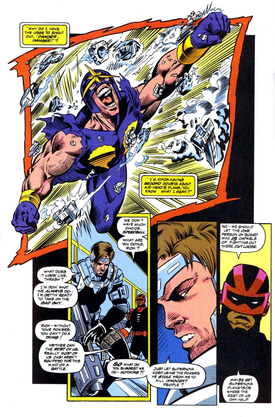 The New Warriors Issue #41 #45 - English 16