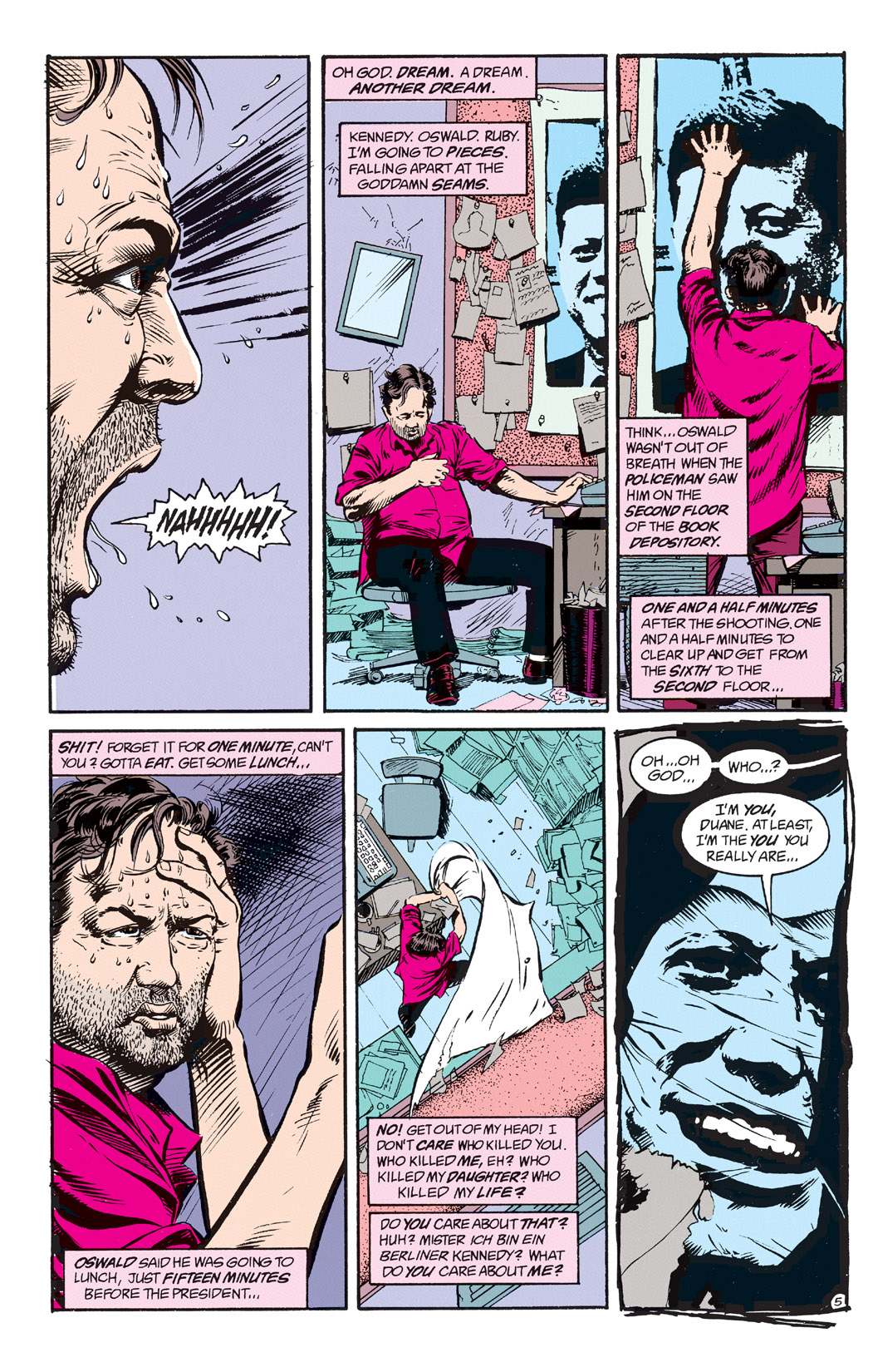 Read online Shade, the Changing Man comic -  Issue #2 - 7