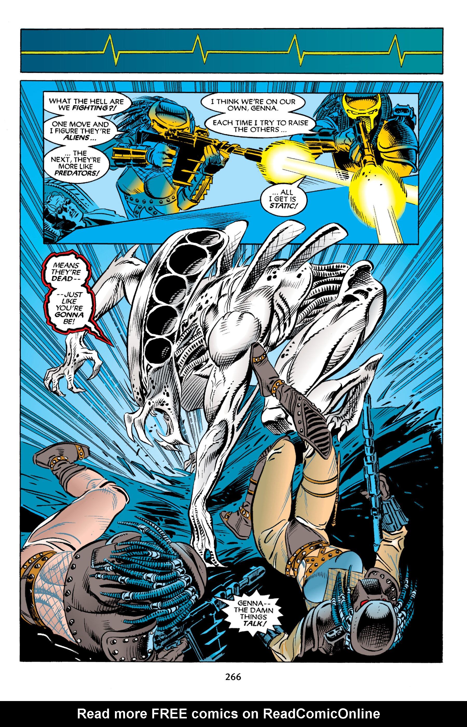 Read online Aliens vs. Predator Omnibus comic -  Issue # _TPB 2 Part 3 - 41