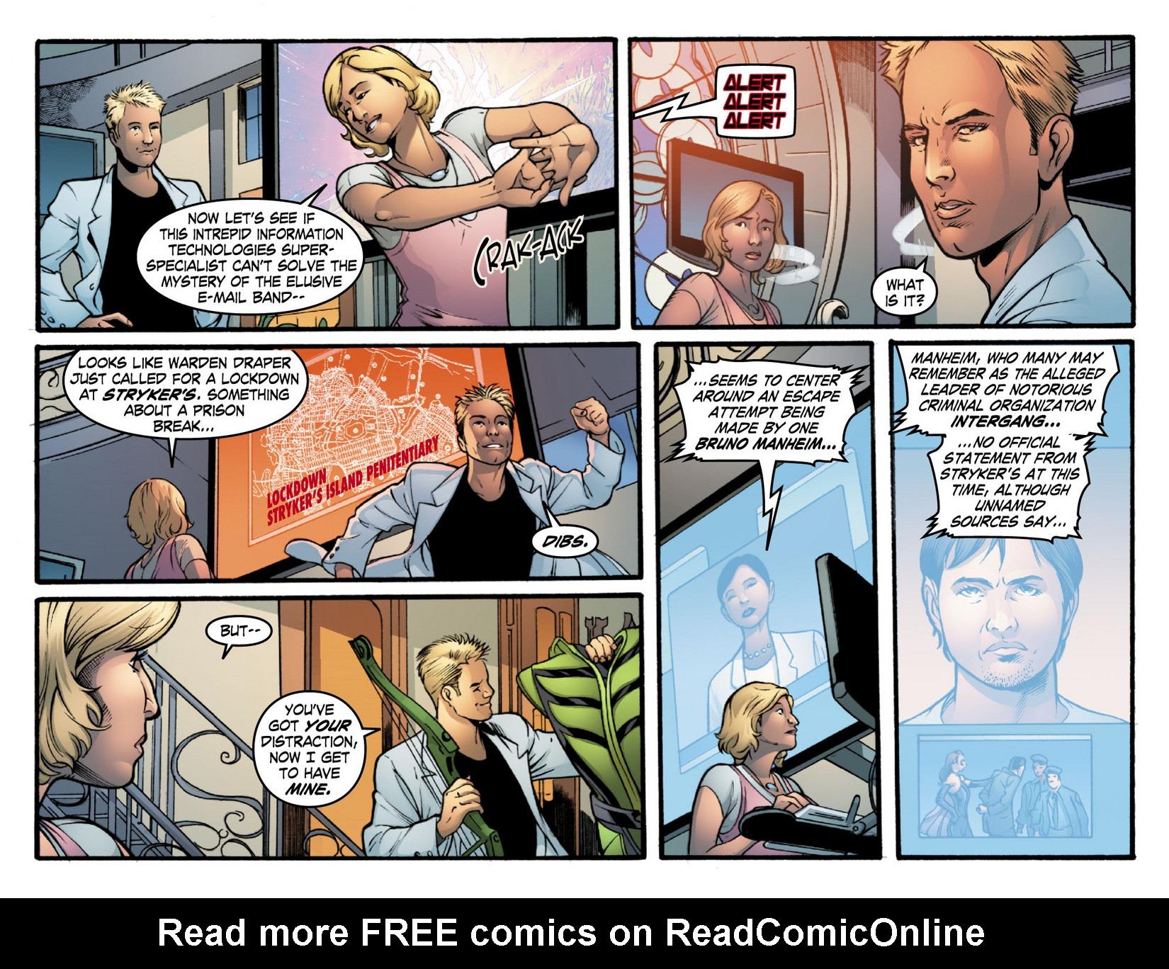 Read online Smallville: Season 11 comic -  Issue #16 - 5