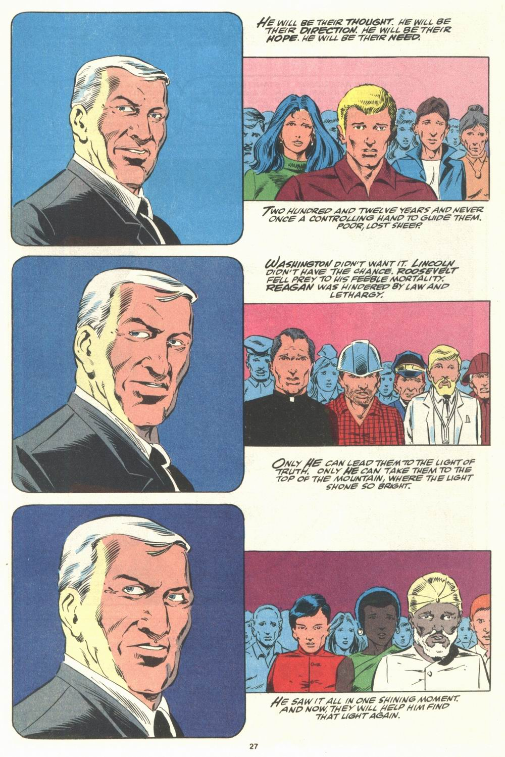 Read online Justice (1986) comic -  Issue #29 - 28