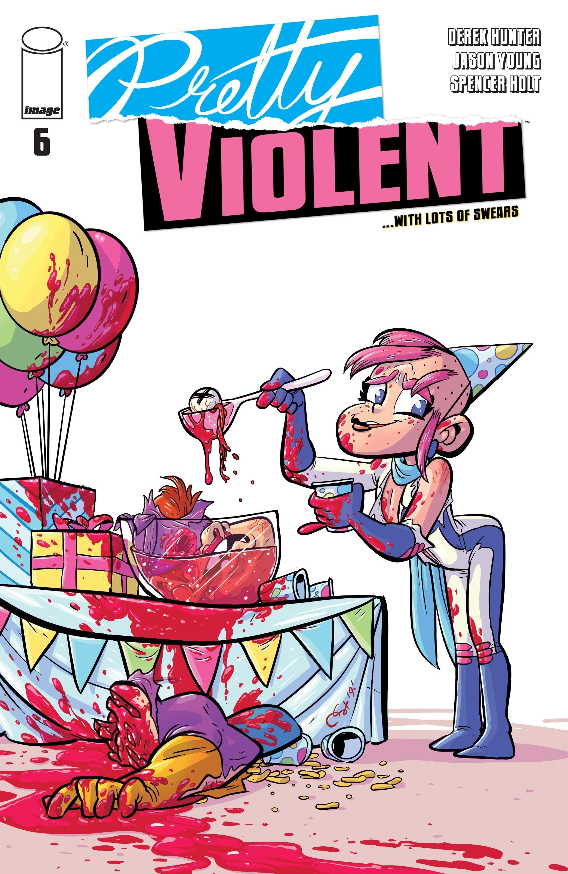 Pretty Violent 6 Page 1
