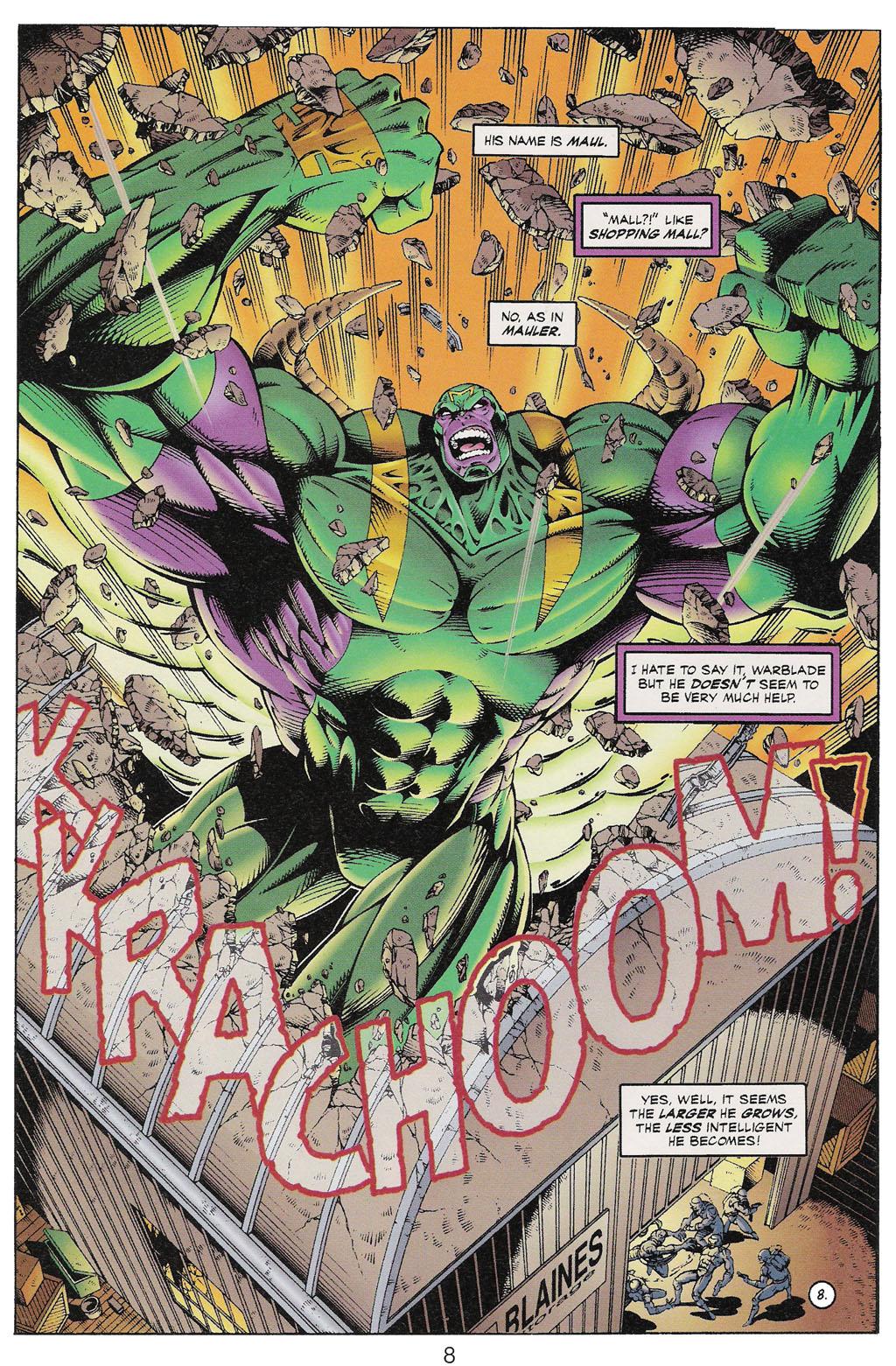 Read online ShadowHawk comic -  Issue #13 - 7