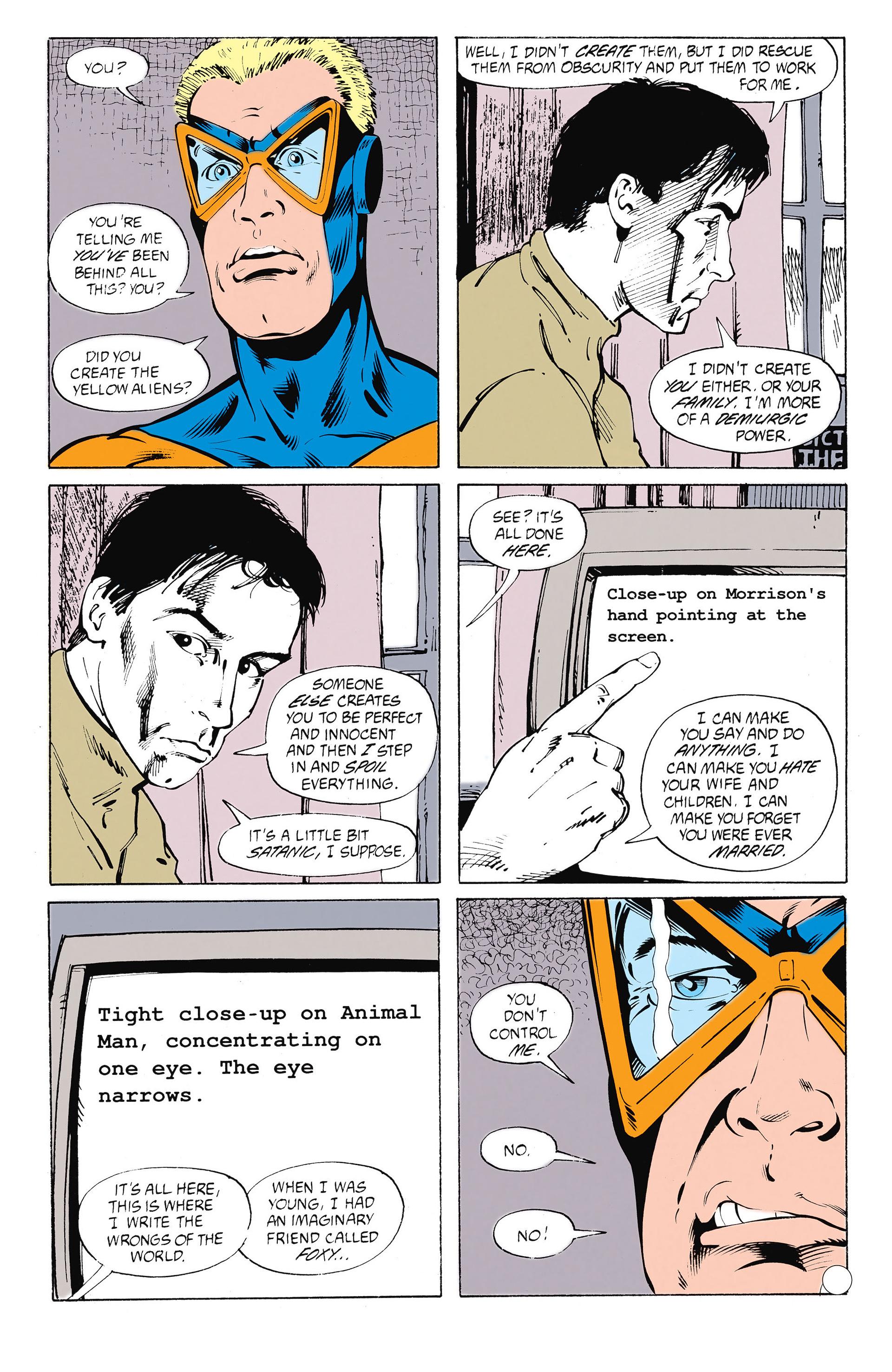 Read online Animal Man (1988) comic -  Issue #26 - 4