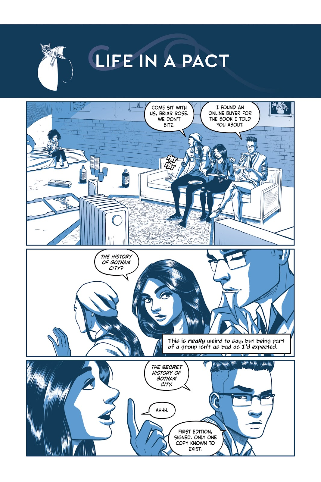Read online Under the Moon: A Catwoman Tale comic -  Issue # TPB (Part 2) - 16