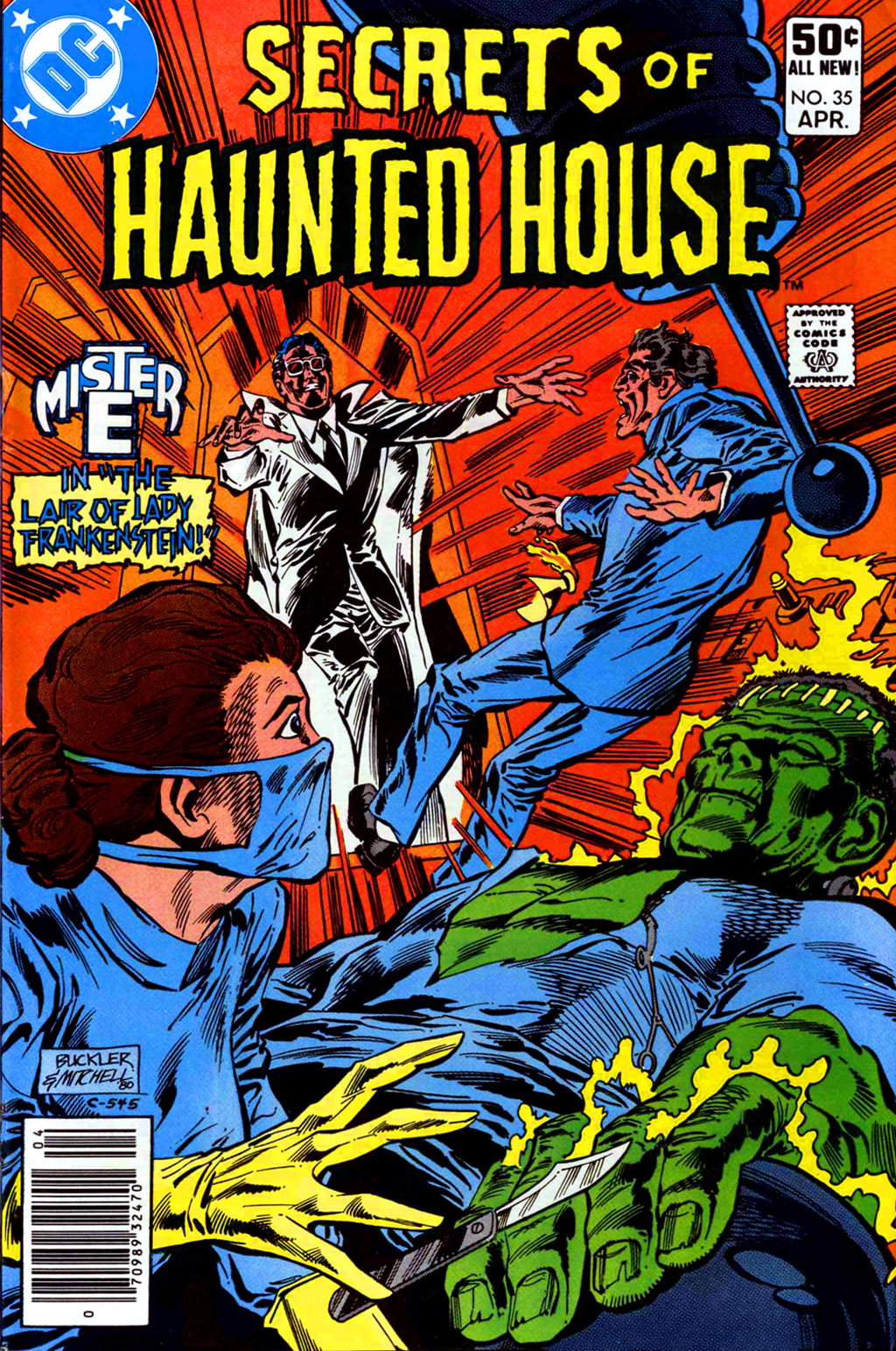 Read online Secrets of Haunted House comic -  Issue #35 - 1