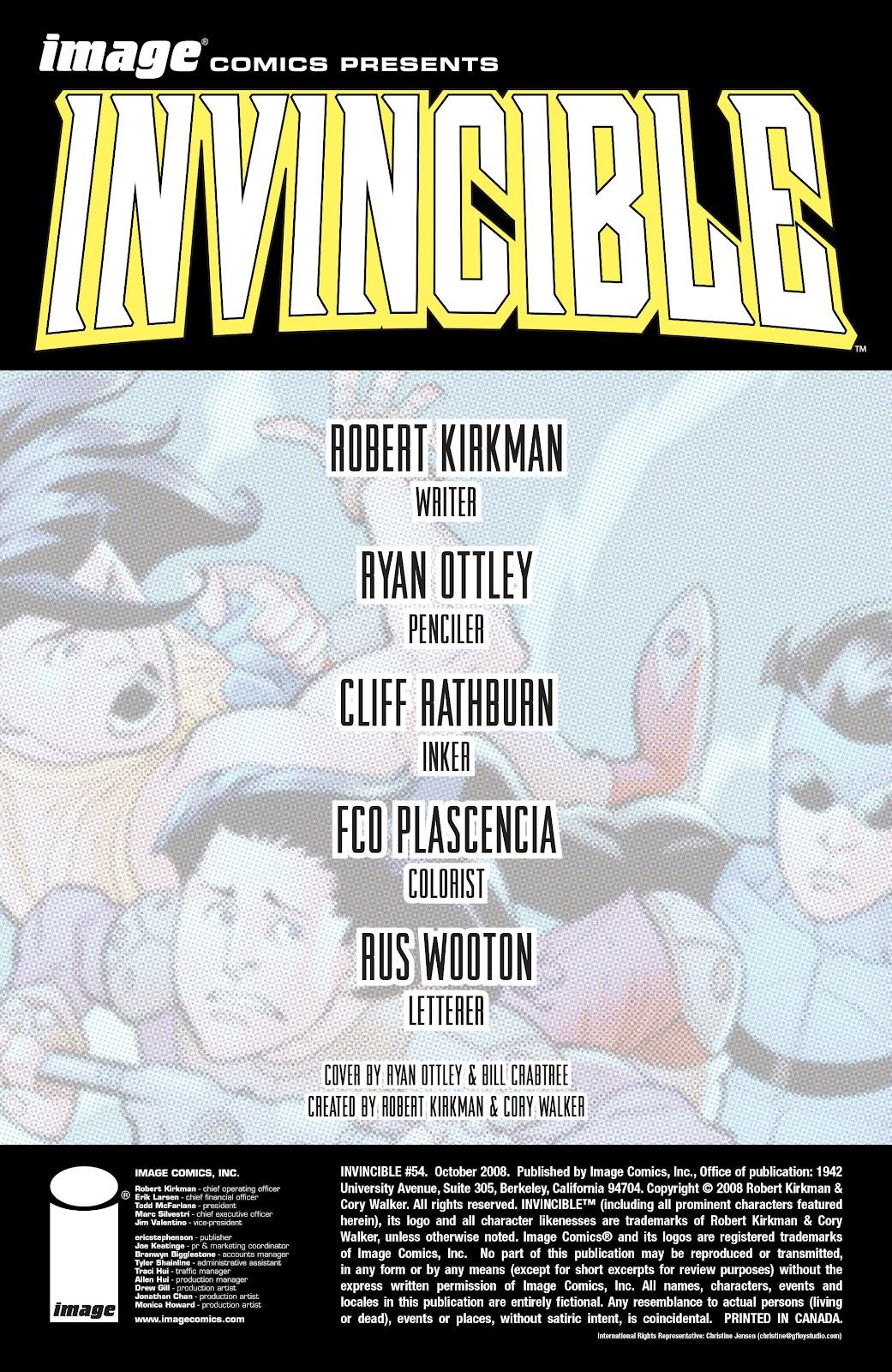 Invincible (2003) 54 Page 2