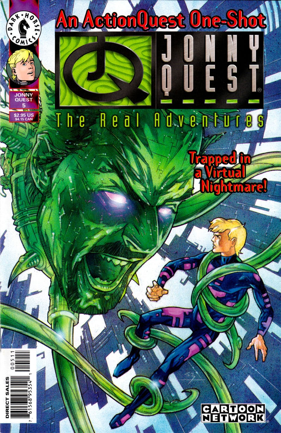 Read online The Real Adventures of Jonny Quest comic -  Issue #5 - 1