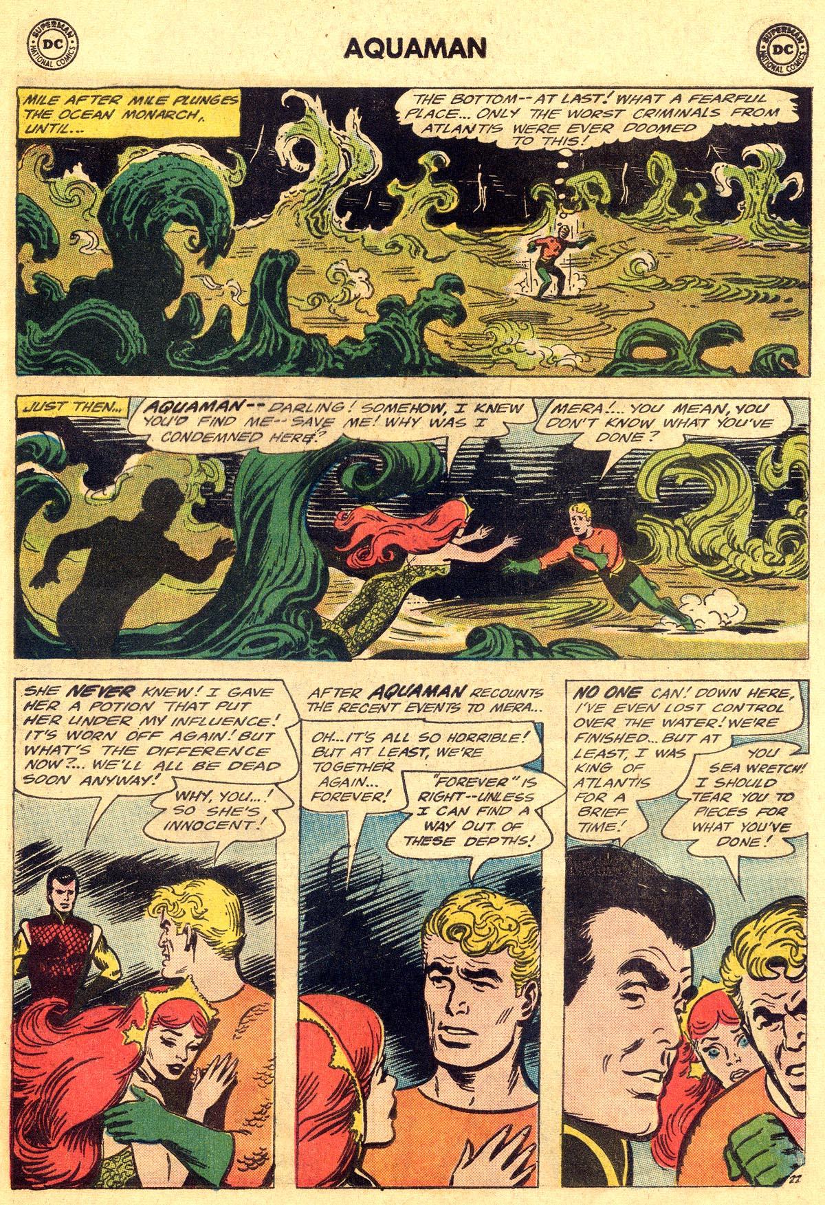 Read online Aquaman (1962) comic -  Issue #19 - 29