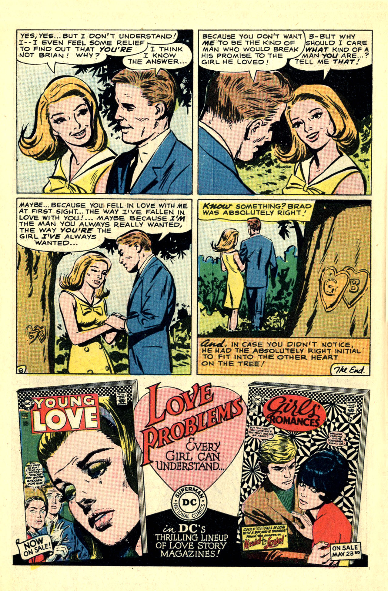 Read online Secret Hearts comic -  Issue #121 - 10