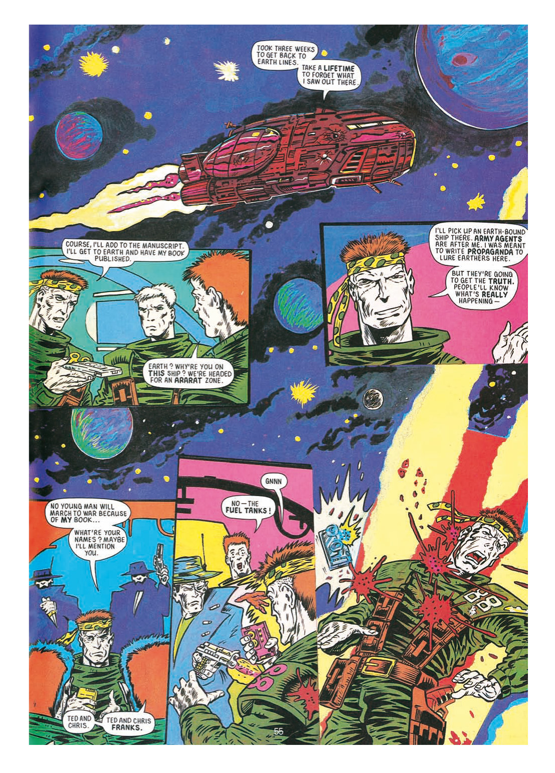 Read online The Complete Bad Company comic -  Issue # TPB - 255