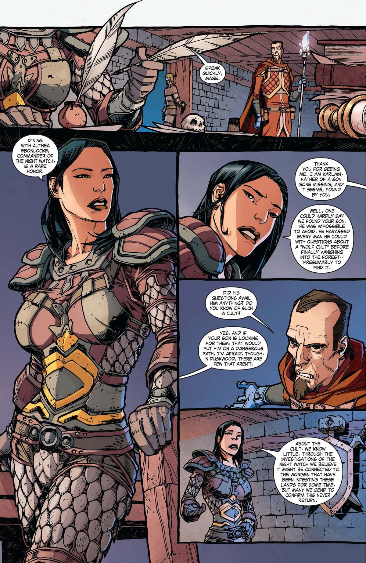 Read online World of Warcraft: Dark Riders comic -  Issue # Full - 40