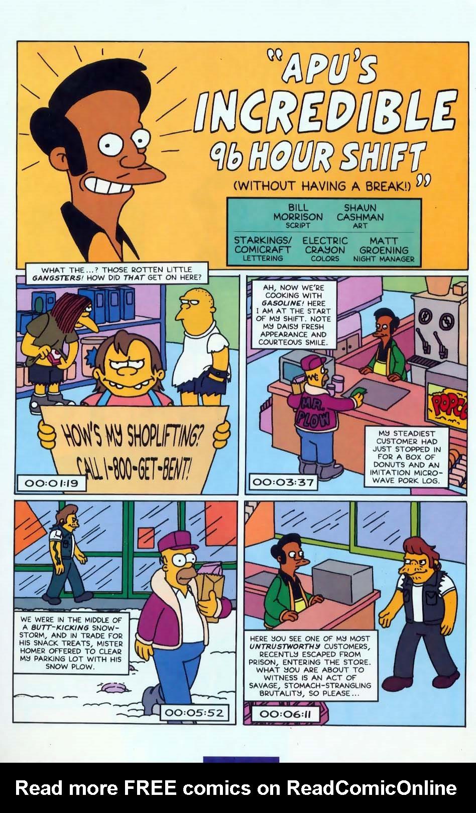 Read online Simpsons Comics comic -  Issue #10 - 26