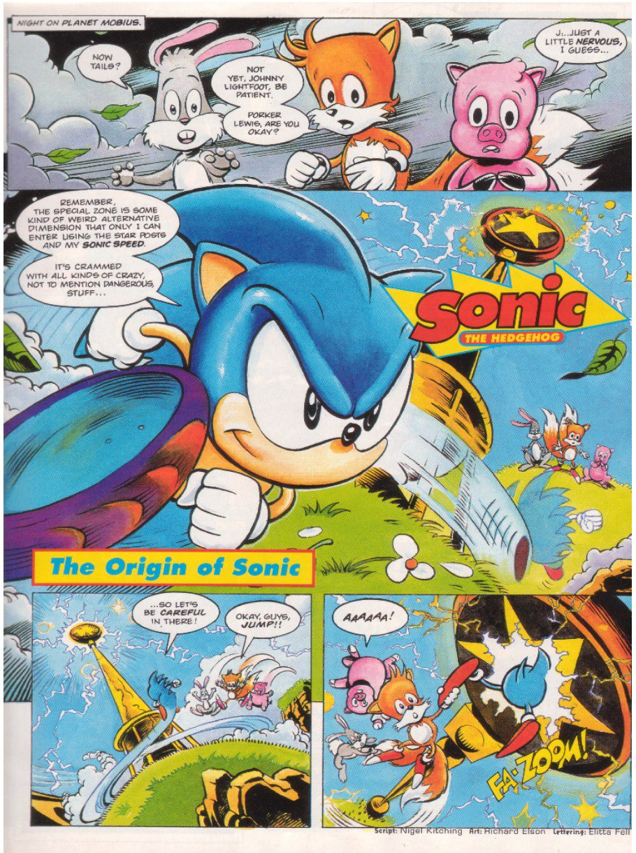 Read online Sonic the Comic comic -  Issue #8 - 3