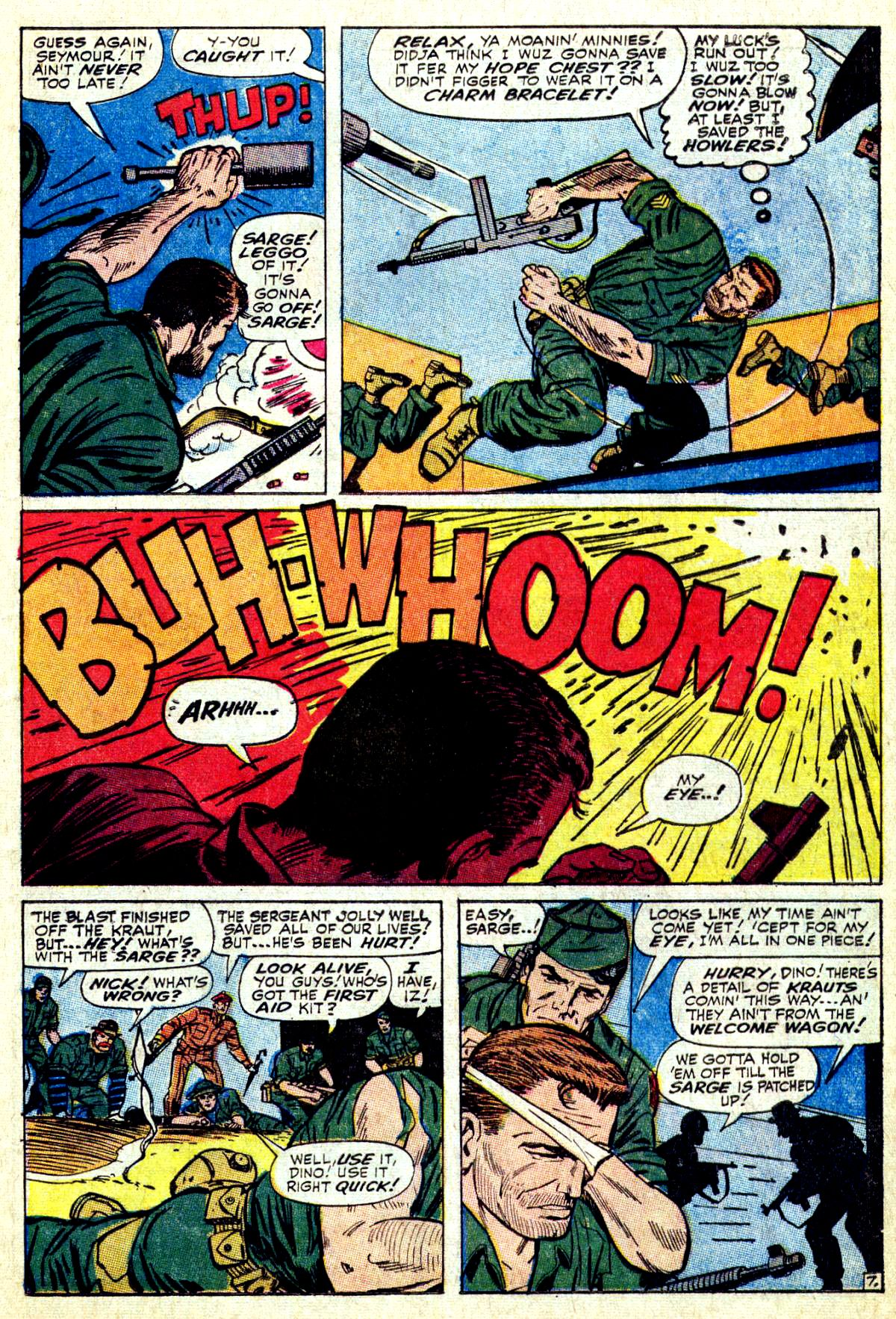 Read online Sgt. Fury comic -  Issue #27 - 11