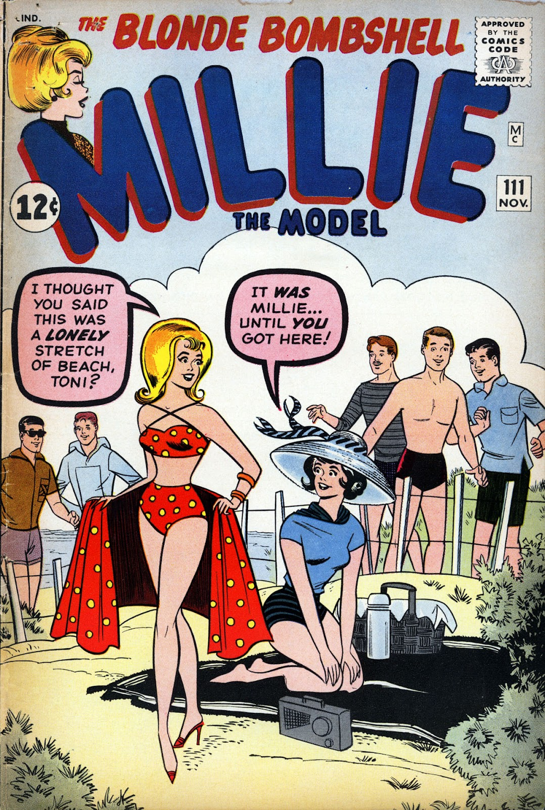 Millie the Model issue 111 - Page 1