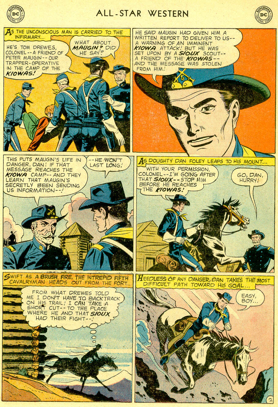 Read online All-Star Western (1951) comic -  Issue #103 - 17
