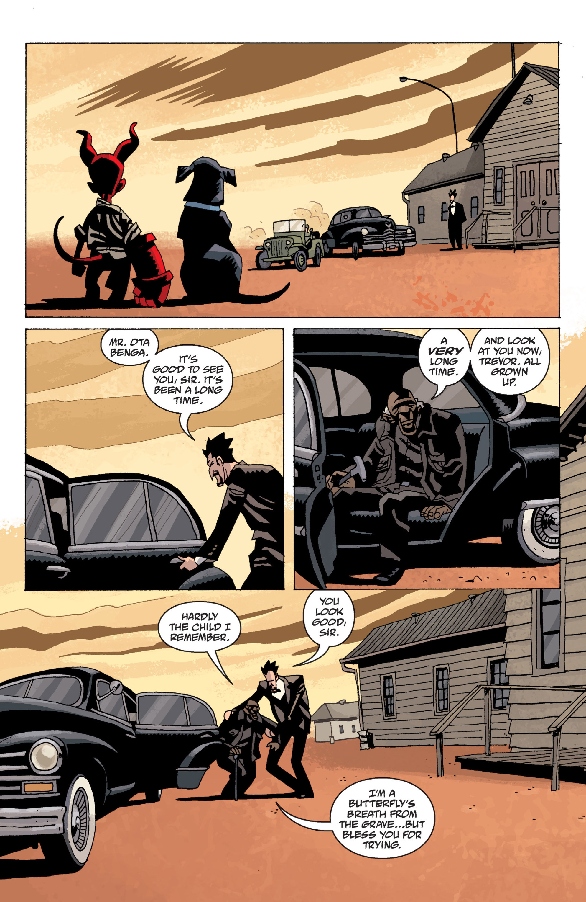 Read online B.P.R.D. (2003) comic -  Issue # TPB 13 - 113