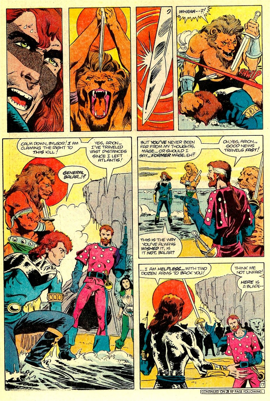 Read online Arion, Lord of Atlantis comic -  Issue #16 - 18