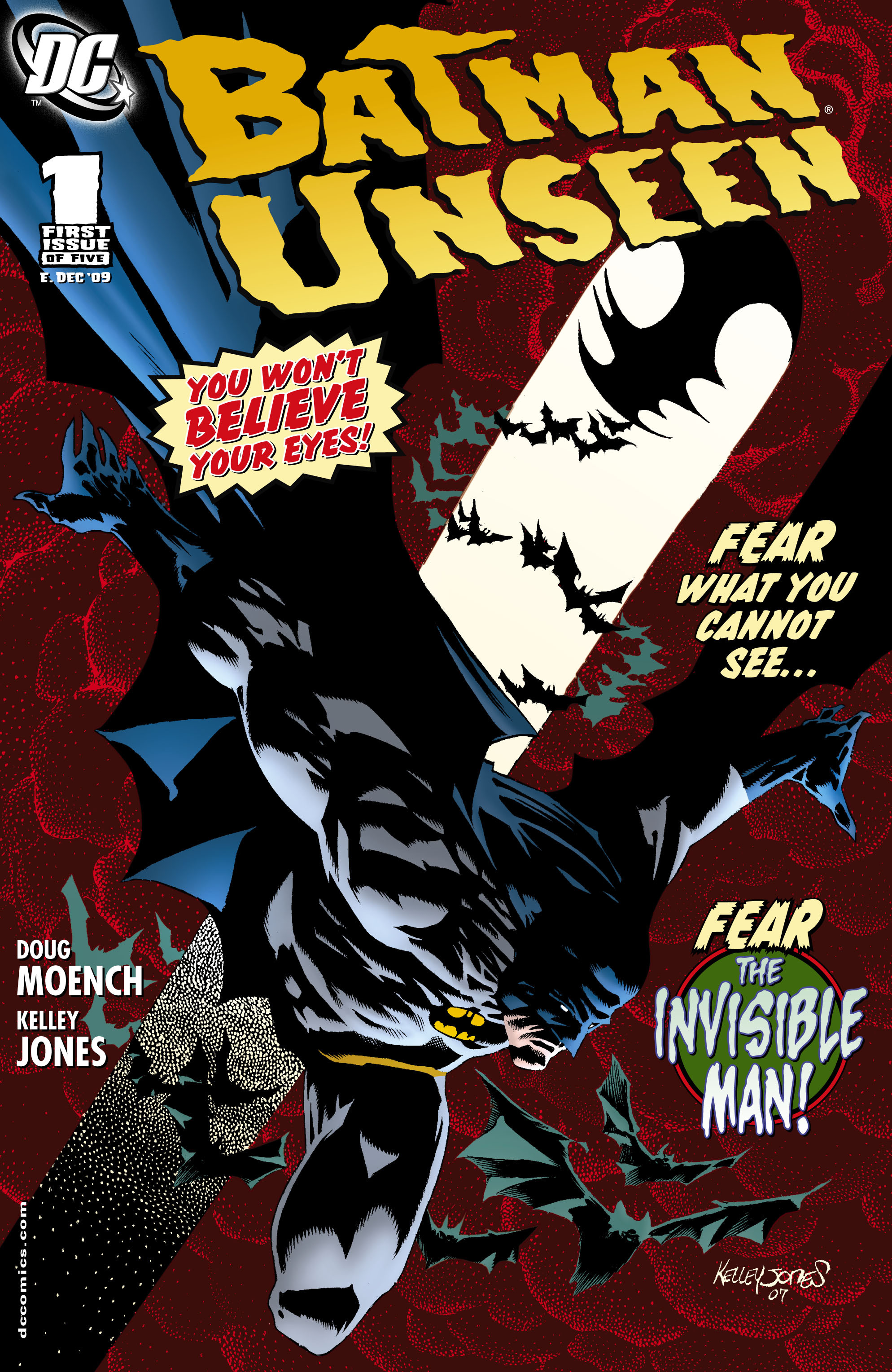 Read online Batman: Unseen comic -  Issue #1 - 1