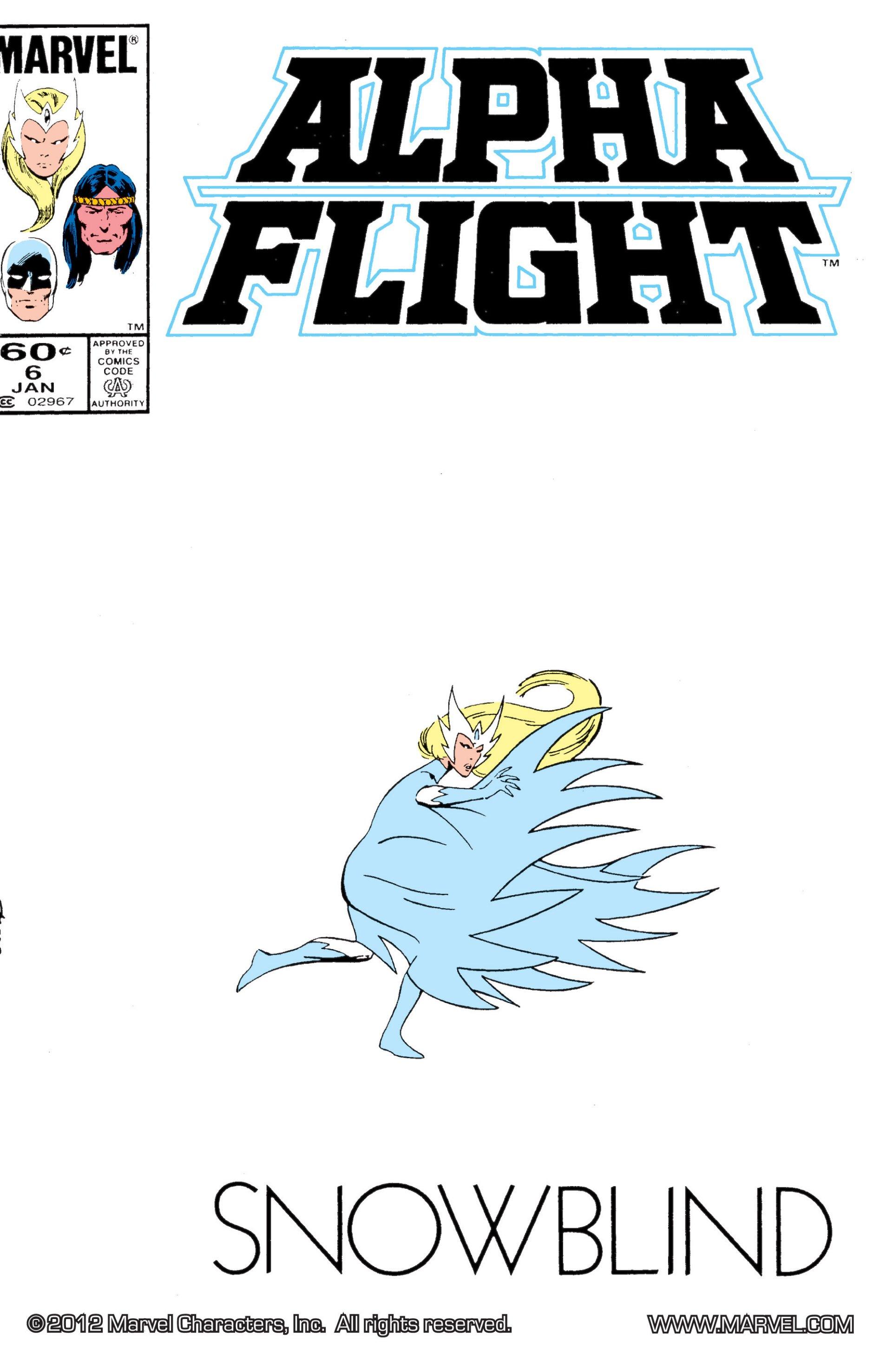 Alpha Flight (1983) 6 Page 1
