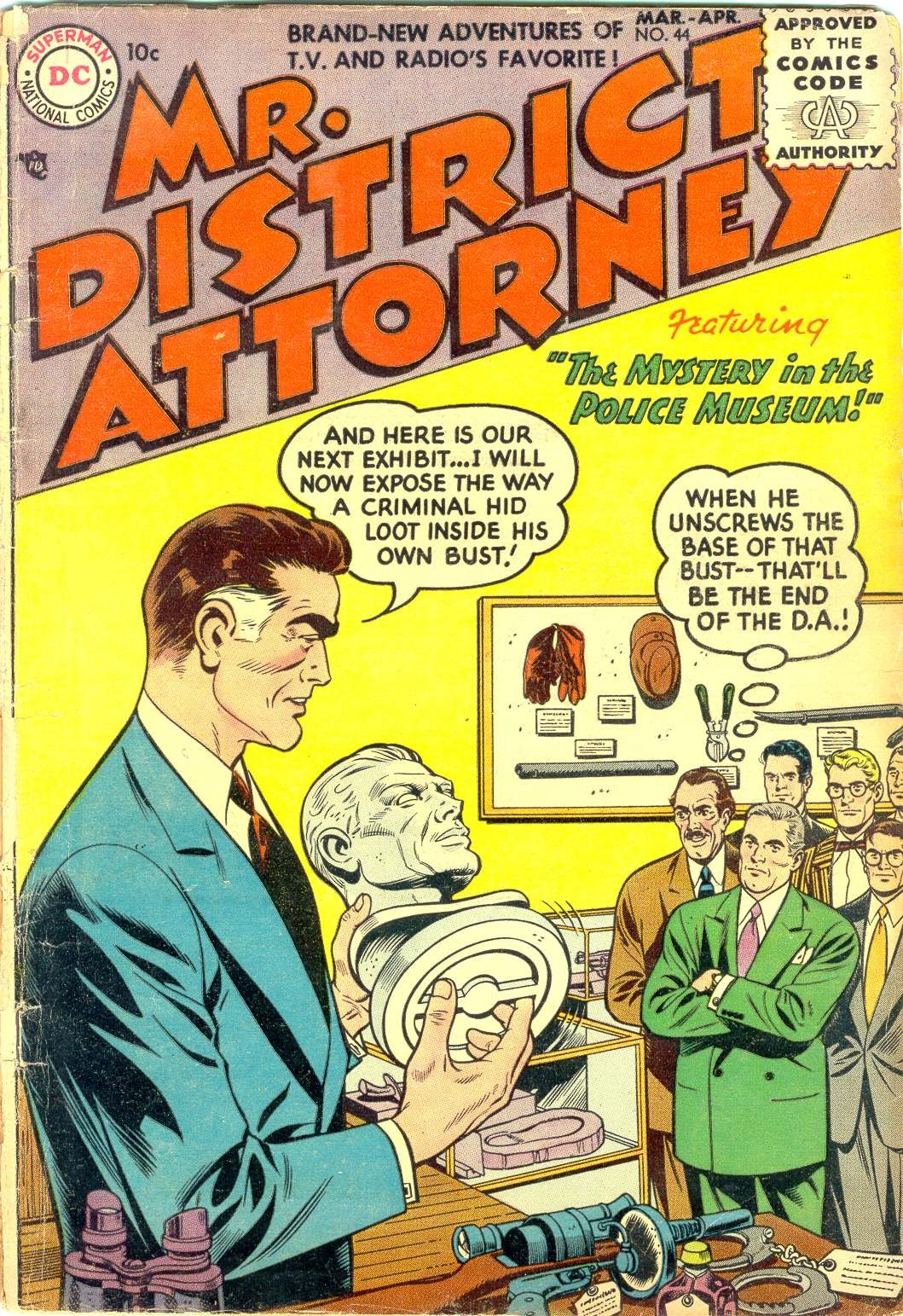 Mr. District Attorney issue 44 - Page 1