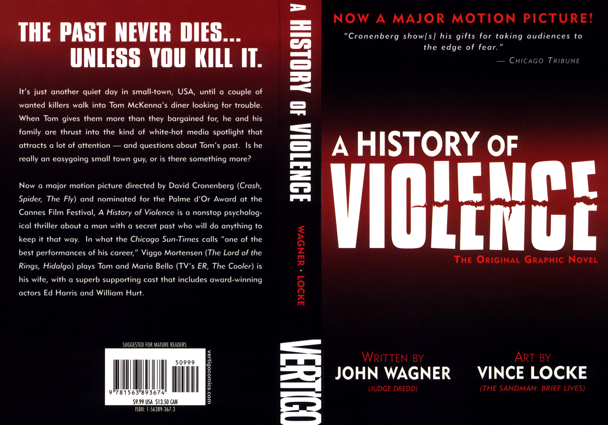Read online A History of Violence comic -  Issue #A History of Violence Full - 2