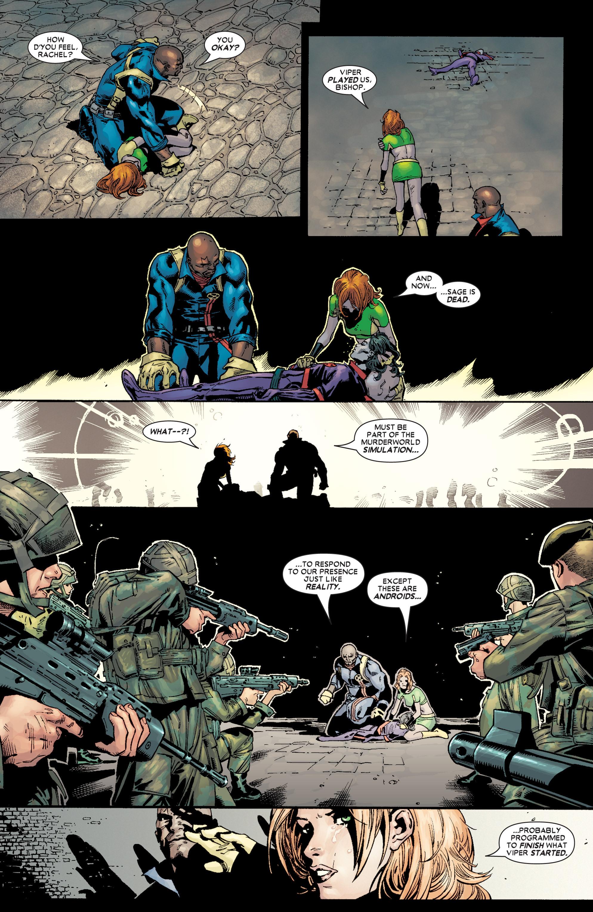 Read online Uncanny X-Men (1963) comic -  Issue #449 - 7