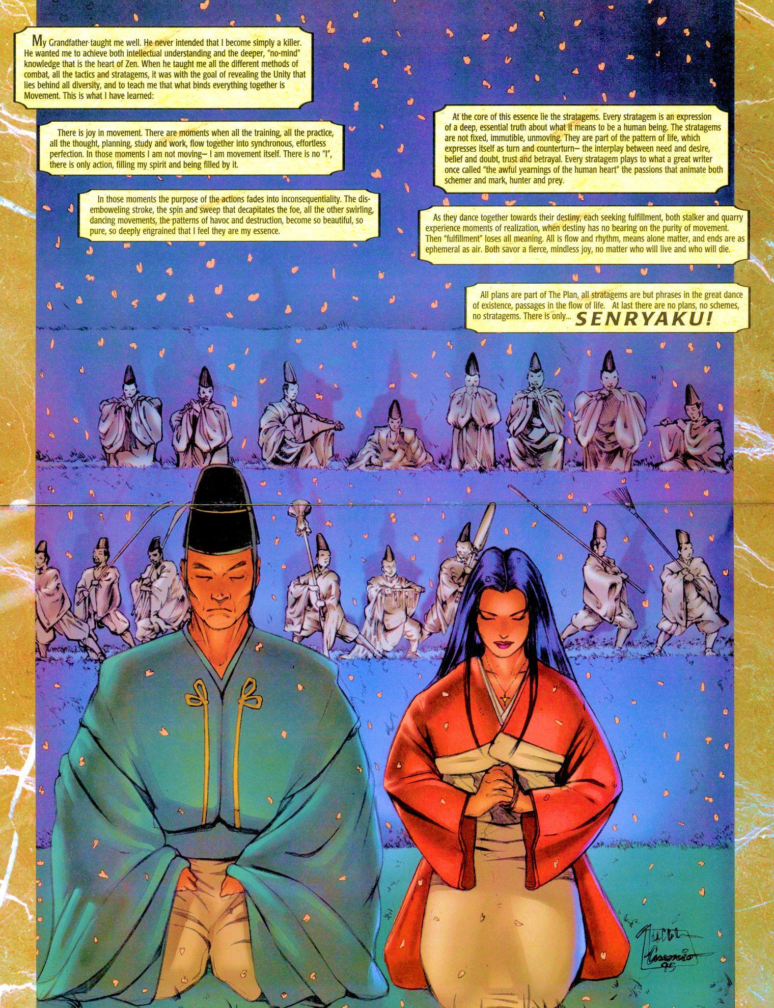 Read online Shi: Senryaku comic -  Issue #3 - 4