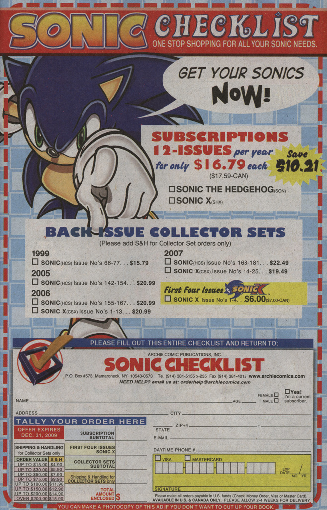 Read online Sonic X comic -  Issue #39 - 33