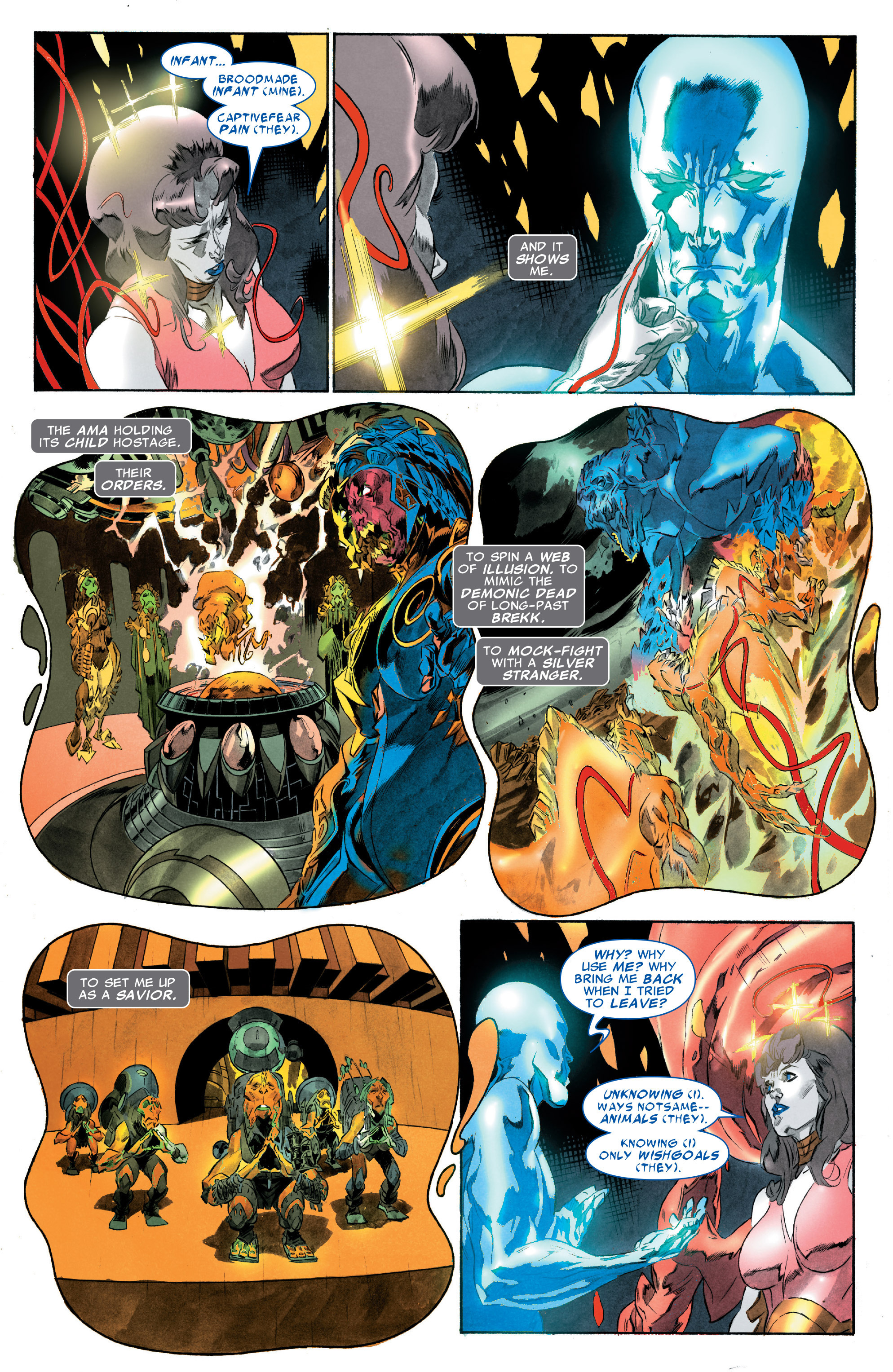 Read online Silver Surfer: In Thy Name comic -  Issue #3 - 13