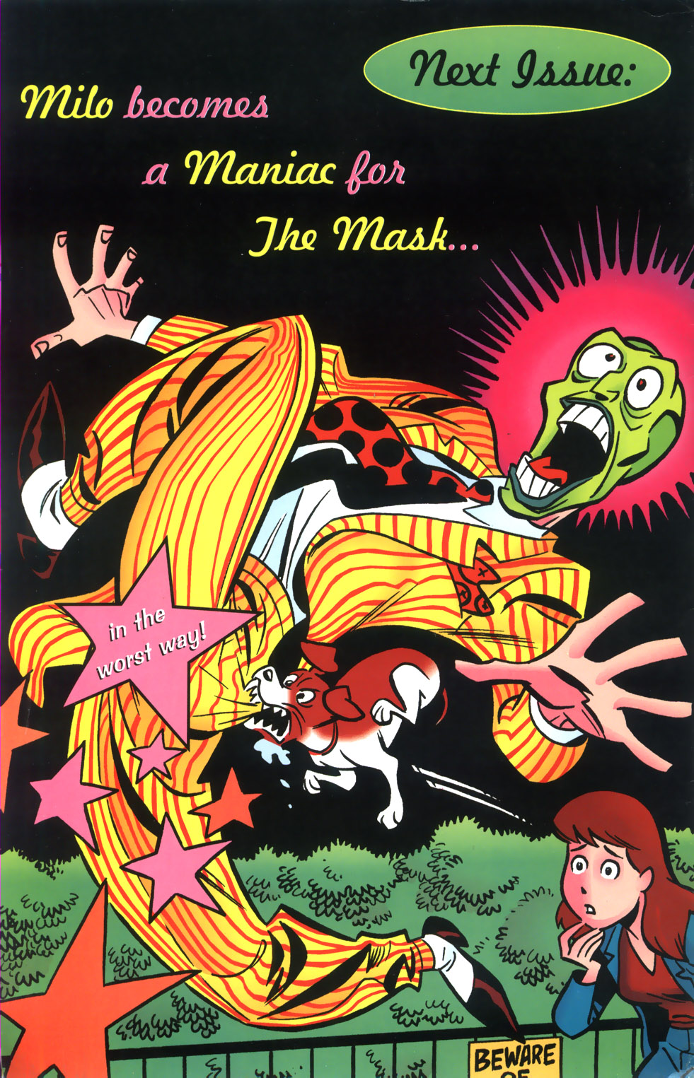 Read online Adventures Of The Mask comic -  Issue #2 - 25
