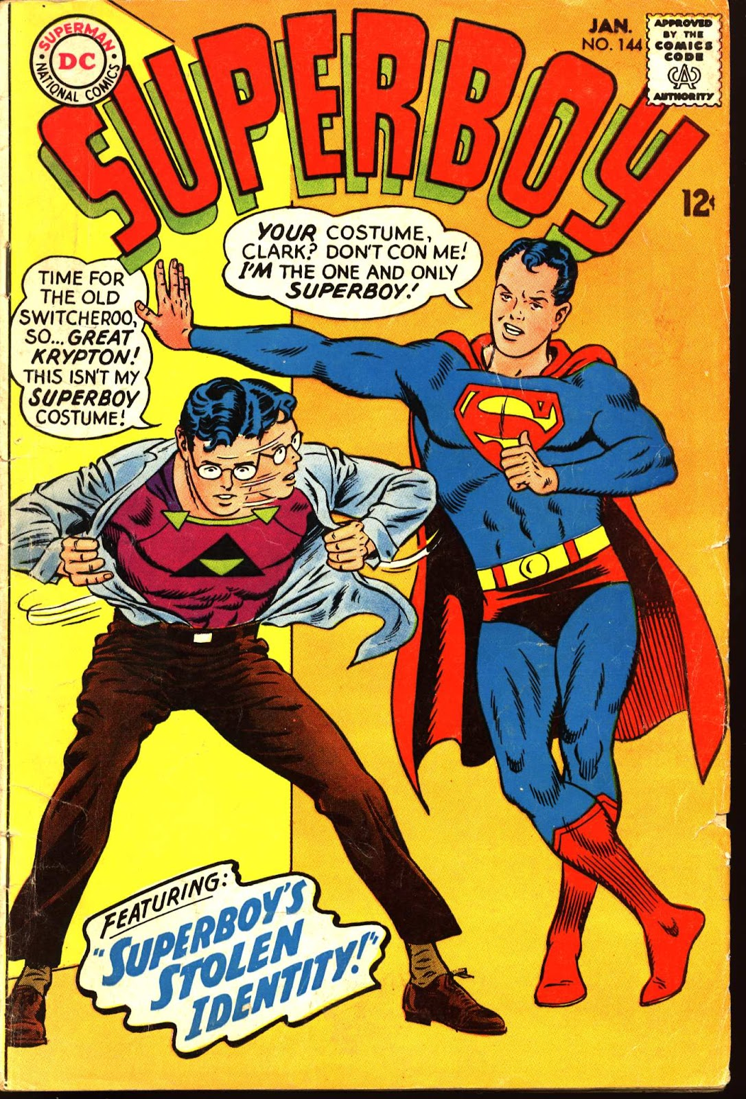 Superboy (1949) issue 144 - Page 1