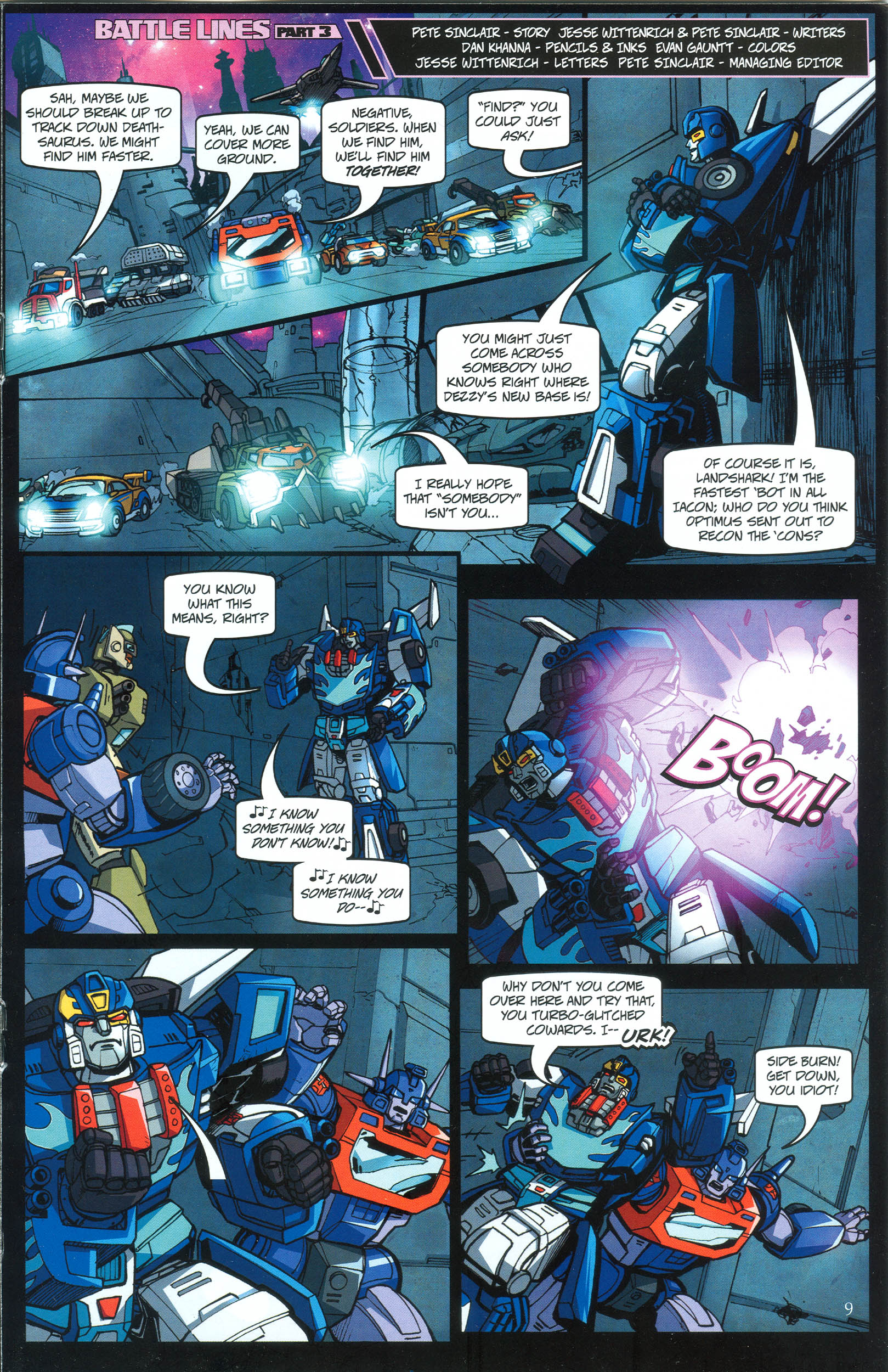Read online Transformers: Collectors' Club comic -  Issue #39 - 9