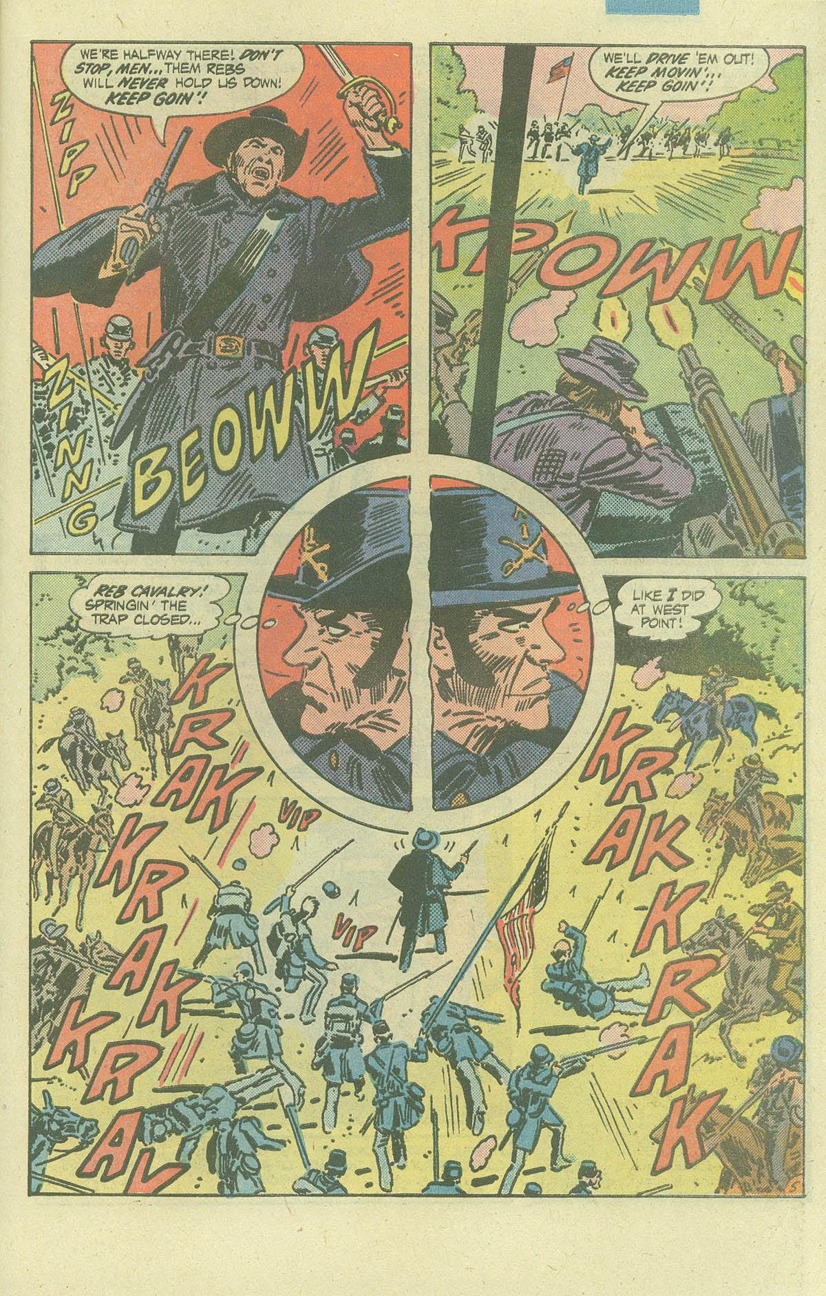 Read online Sgt. Rock comic -  Issue #386 - 22