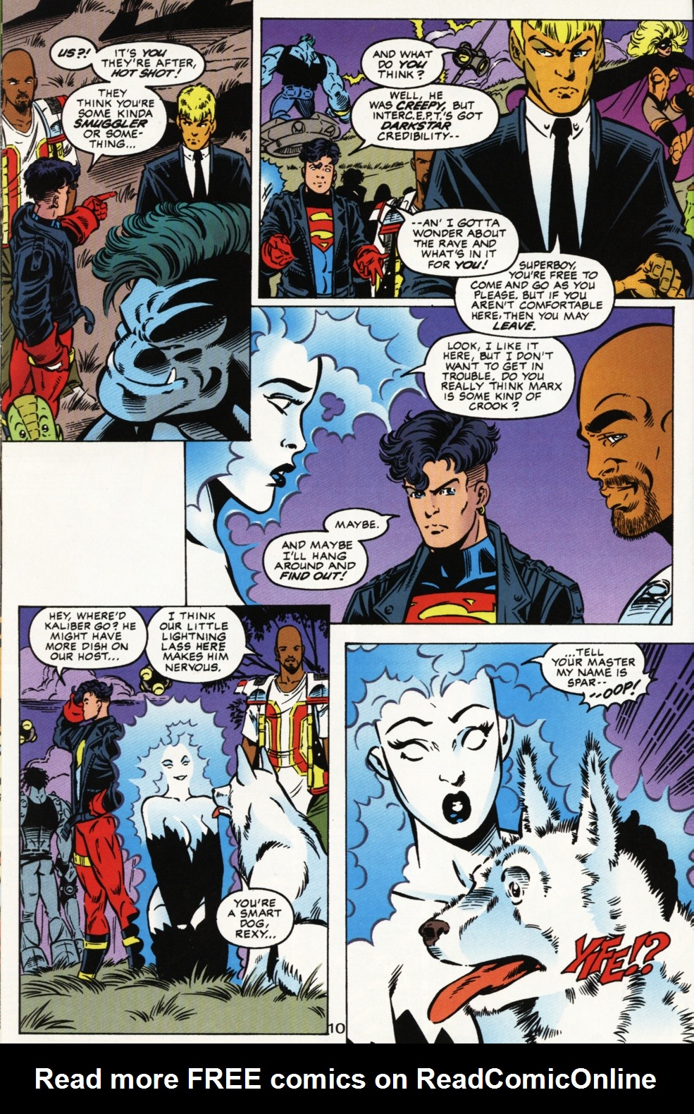 Read online Superboy & The Ravers comic -  Issue #2 - 11
