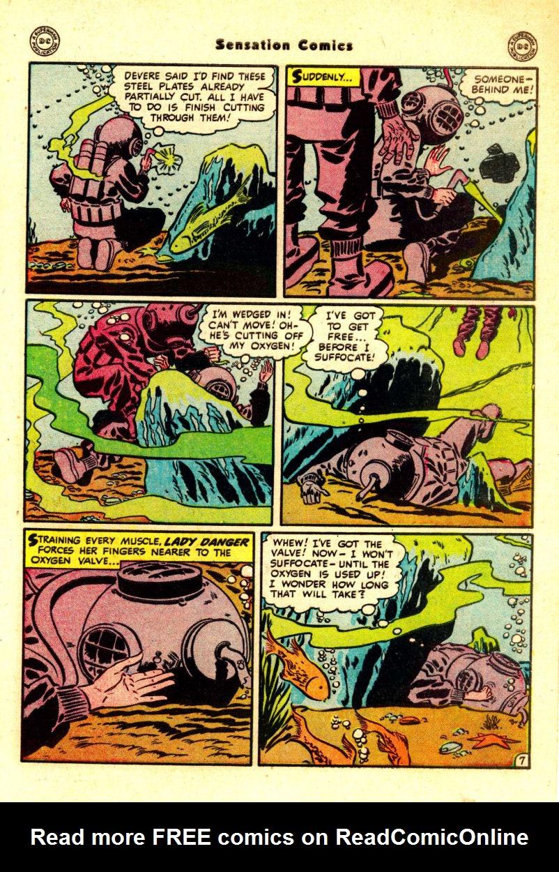 Read online Sensation (Mystery) Comics comic -  Issue #88 - 46