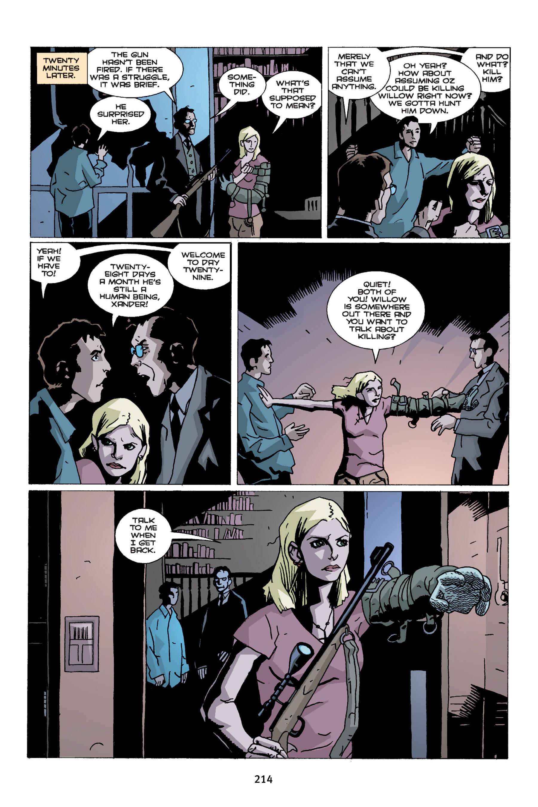 Read online Buffy the Vampire Slayer: Omnibus comic -  Issue # TPB 4 - 212