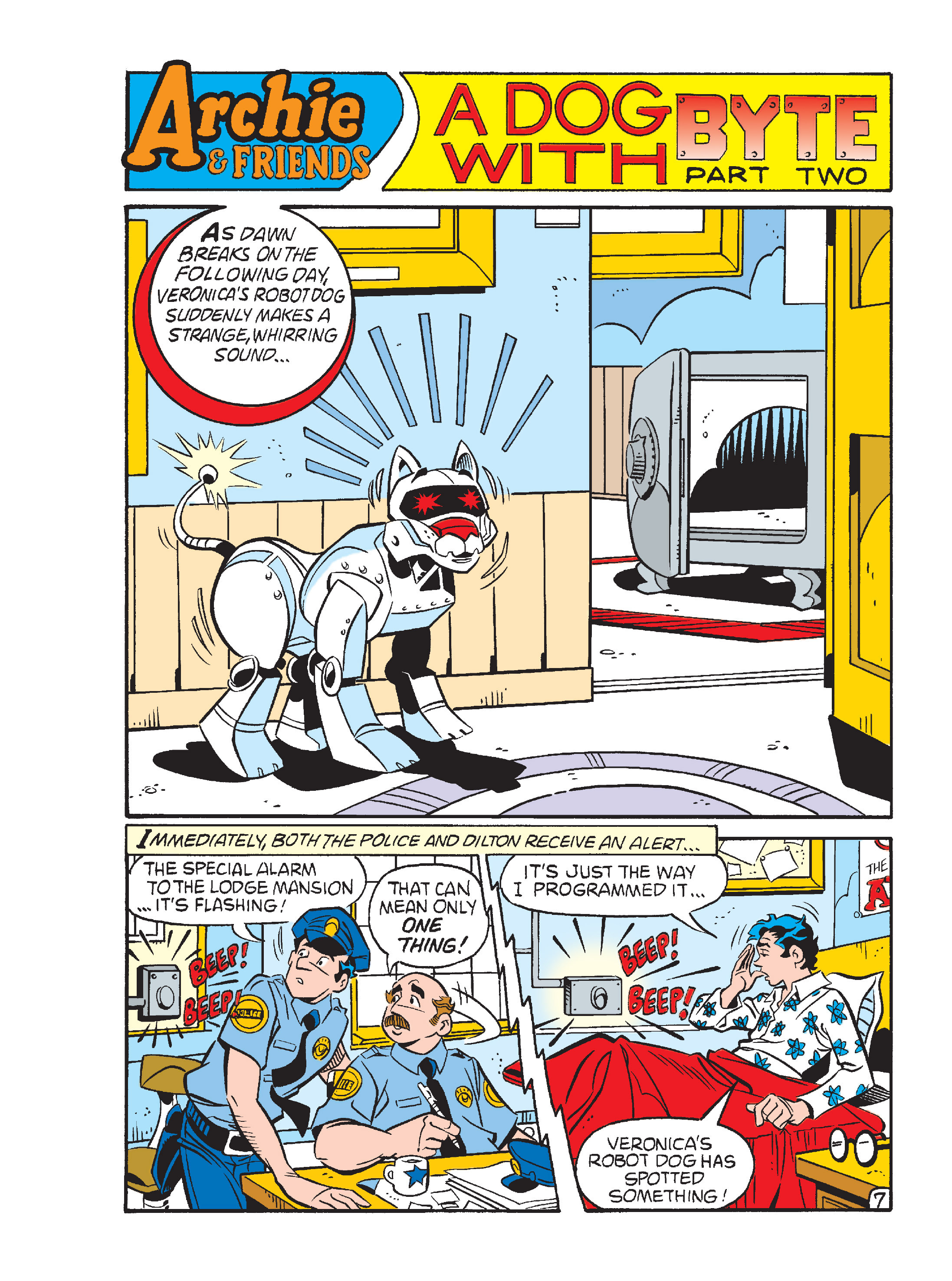 Read online Archie's Funhouse Double Digest comic -  Issue #15 - 222