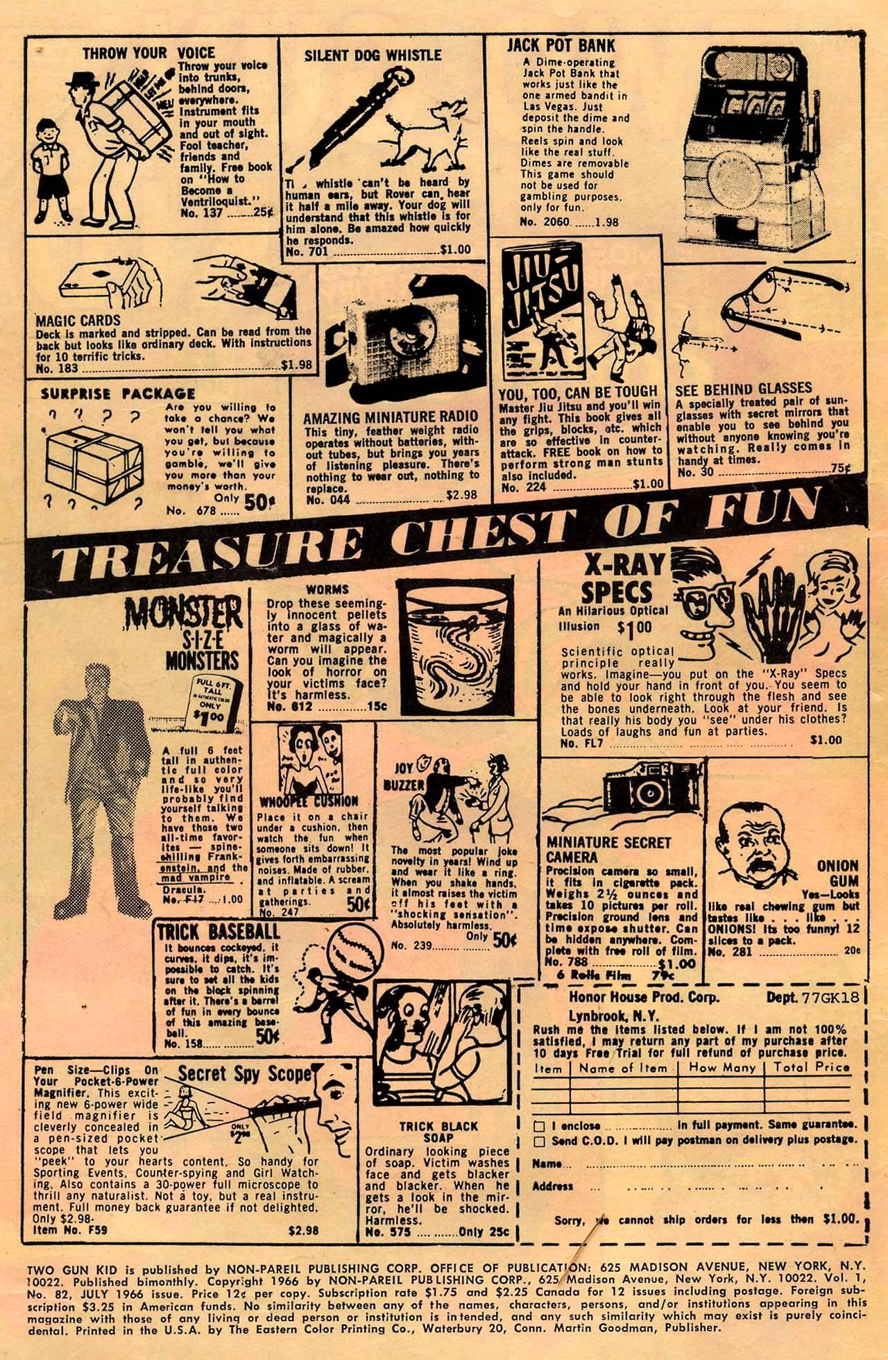 Read online Two-Gun Kid comic -  Issue #82 - 2
