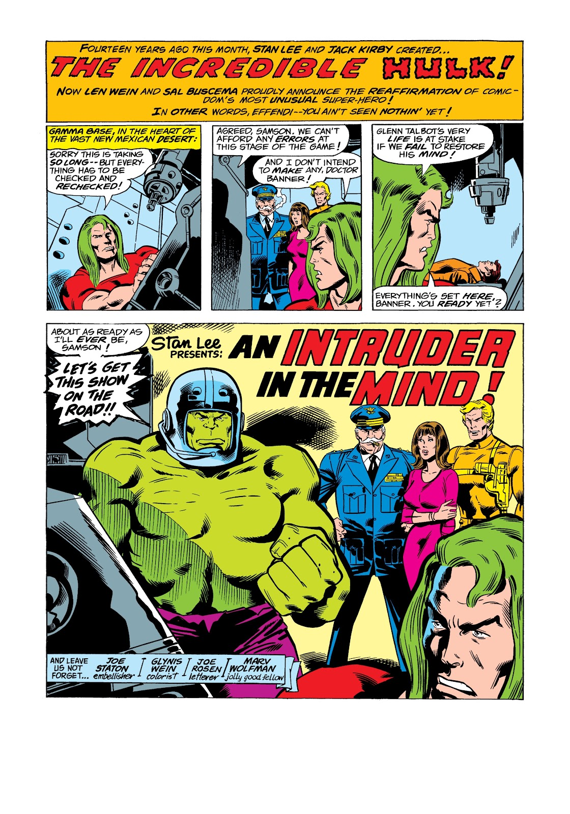Read online Marvel Masterworks: The Incredible Hulk comic -  Issue # TPB 12 (Part 2) - 1