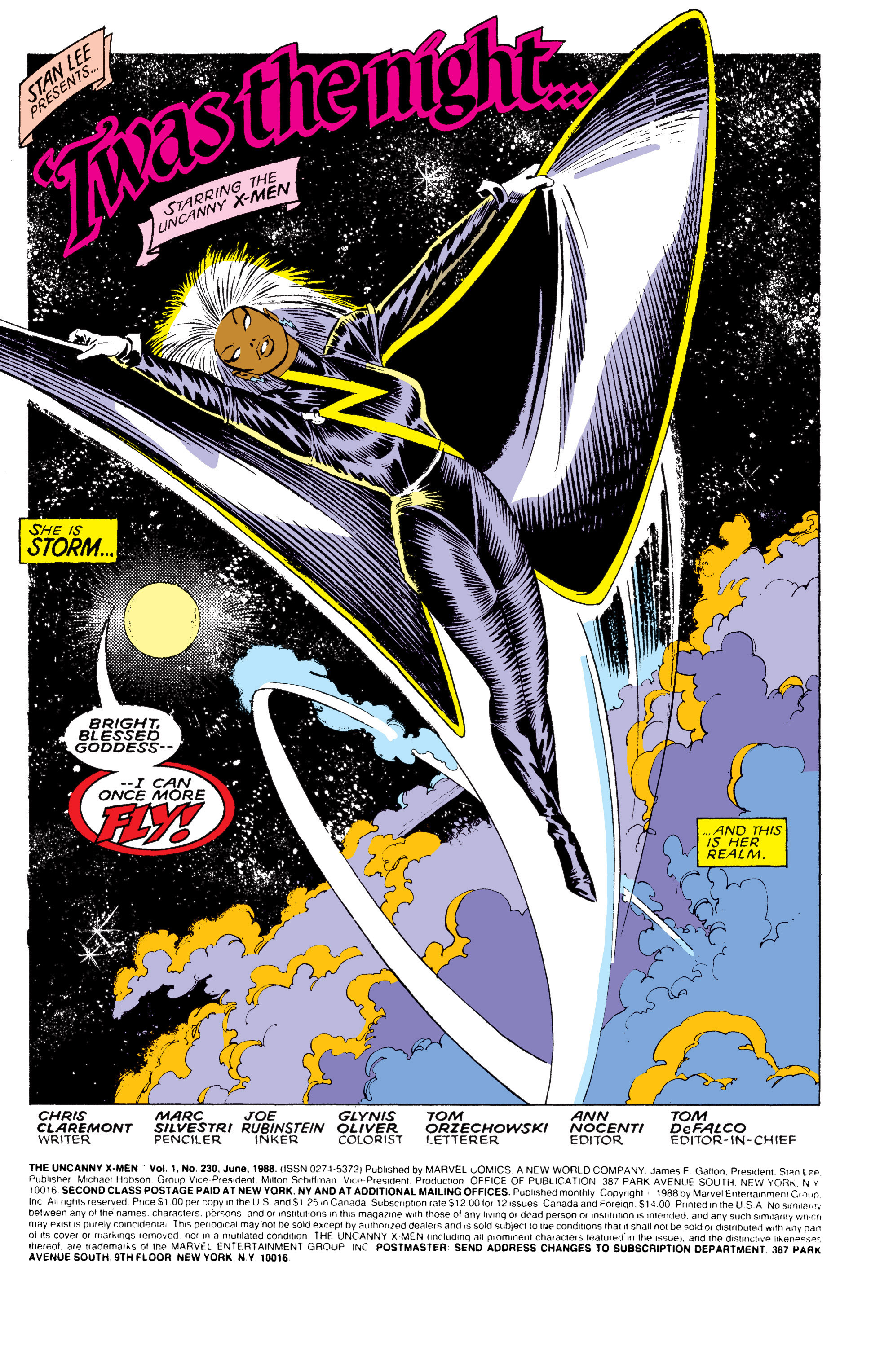 Read online Uncanny X-Men (1963) comic -  Issue #230 - 2