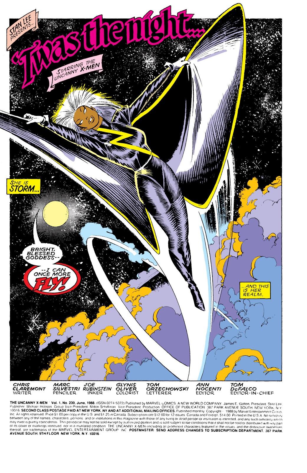 Uncanny X-Men (1963) issue 230 - Page 2