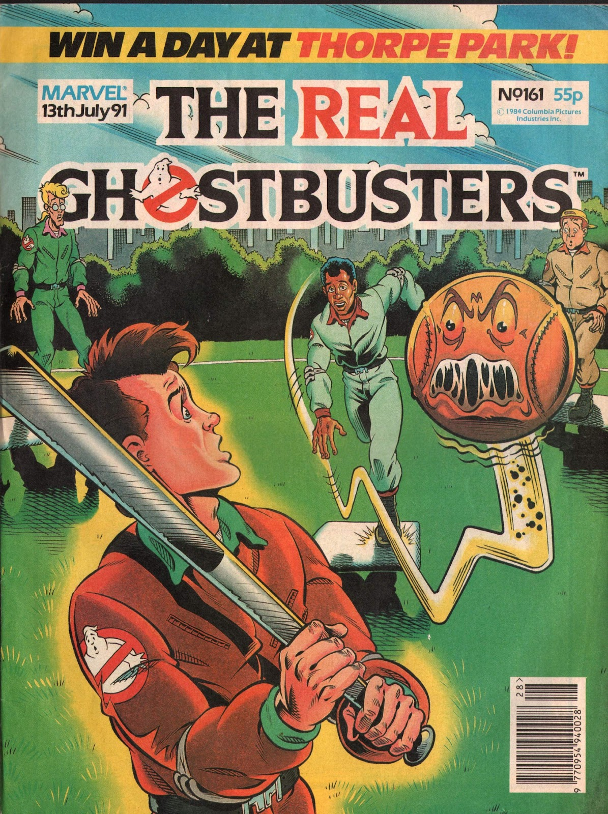 The Real Ghostbusters 161 Page 1