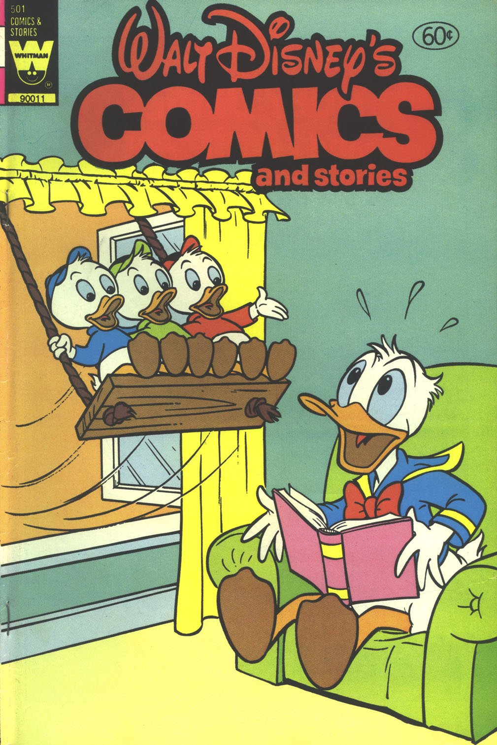 Walt Disney's Comics and Stories issue 501 - Page 1