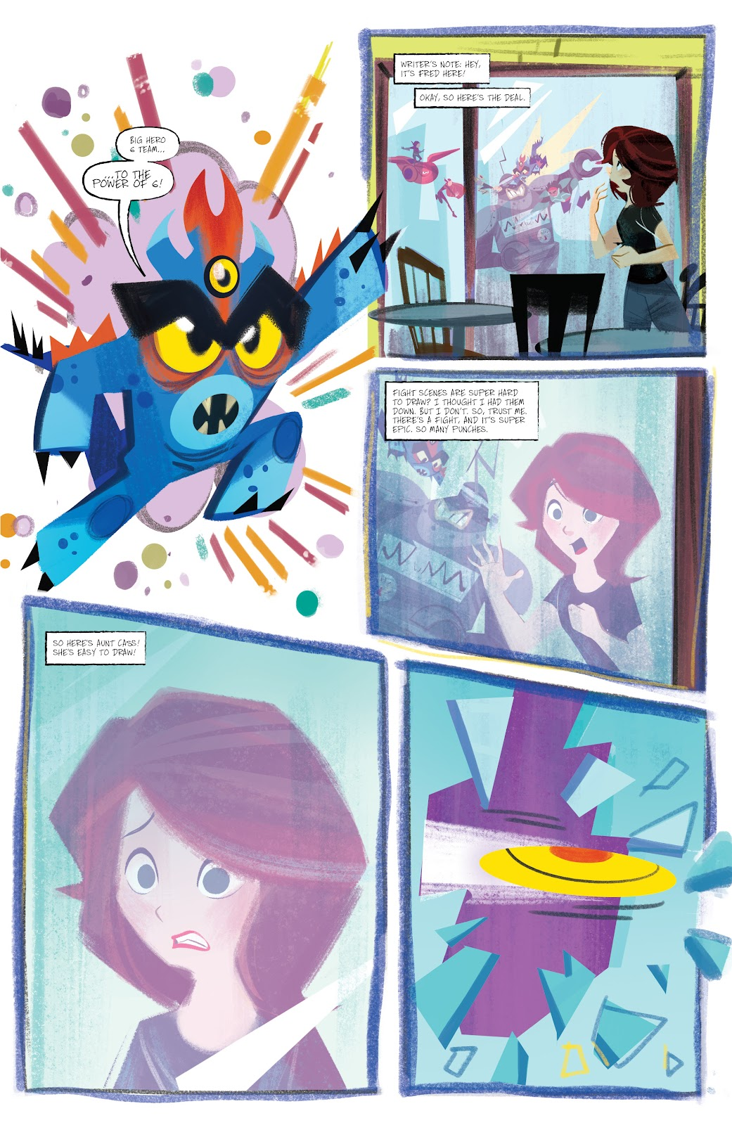 Read online Big Hero 6: The Series comic -  Issue #1 - 9